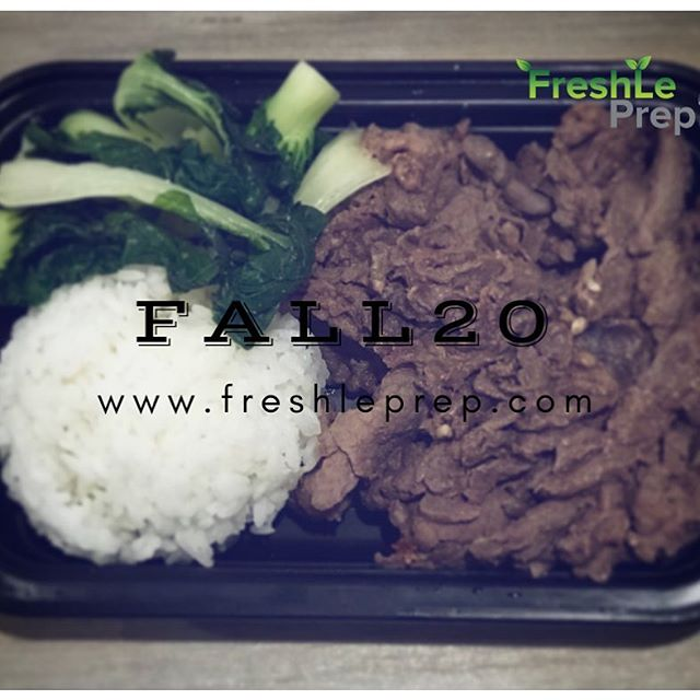 Now available: Bulgogi with baby bok choy‼️ . Don't forget to use FALL20 promotional code - this week only! ——— Deadline to place orders is Thursday night at 11pm, for Sunday Pickup & Delivery 🔹Check out our complete menu at: www.freshleprep.com/meals/ 🔹Contact us or visit our website for more info on PICKUP LOCATIONS at www.freshleprep.com/faqs/ ____ #freshleprep #fitspo #fitmom #fitness #instafit #eattogrow #staykempt #healthyeating #bodybuilding #prepmeals #inspiration #paleo #vegan #mealprep #health #eatclean #fresh #foodie #bulking #lean #eatright #fitmeals #protein #igfitness #fitness #muscle #instafit #motivation #weightloss #dietfood