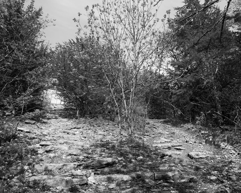 Two Paths, Cedar Valley Reservoir, Garnett, Kansas, 2016