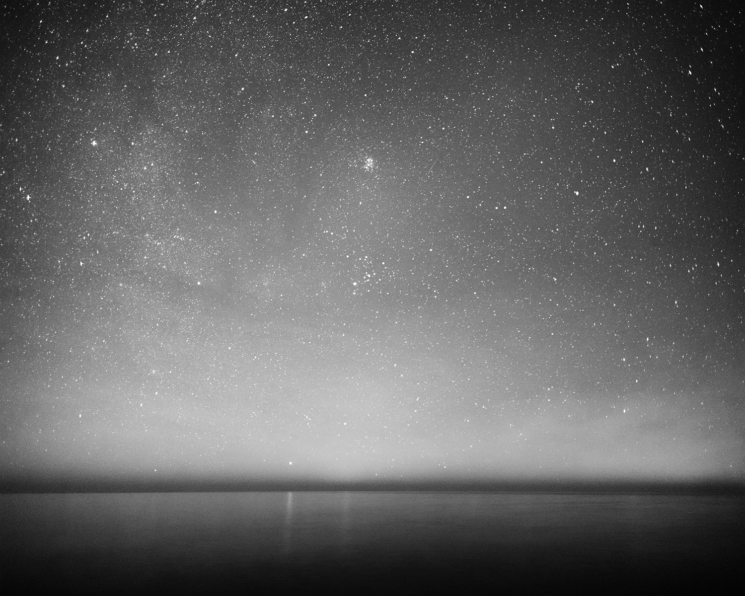 Lake Michigan Night Sky, Algoma, Wisconsin, 2016