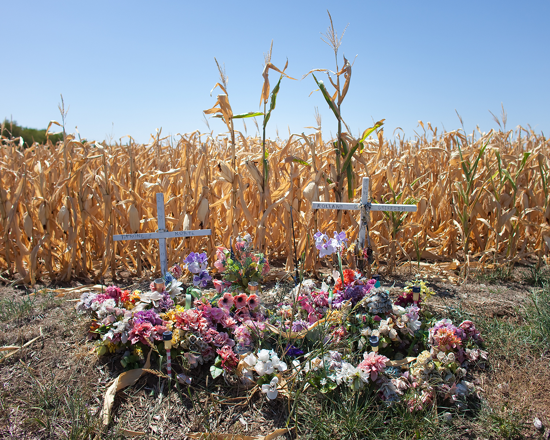 Tyrone Korte and Rolland Griffith, Douglas County, Kansas, 2012