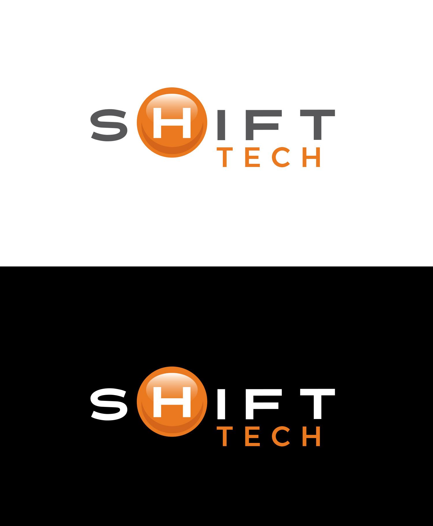 Logo design for Shift Tech. © E-filliate Inc.