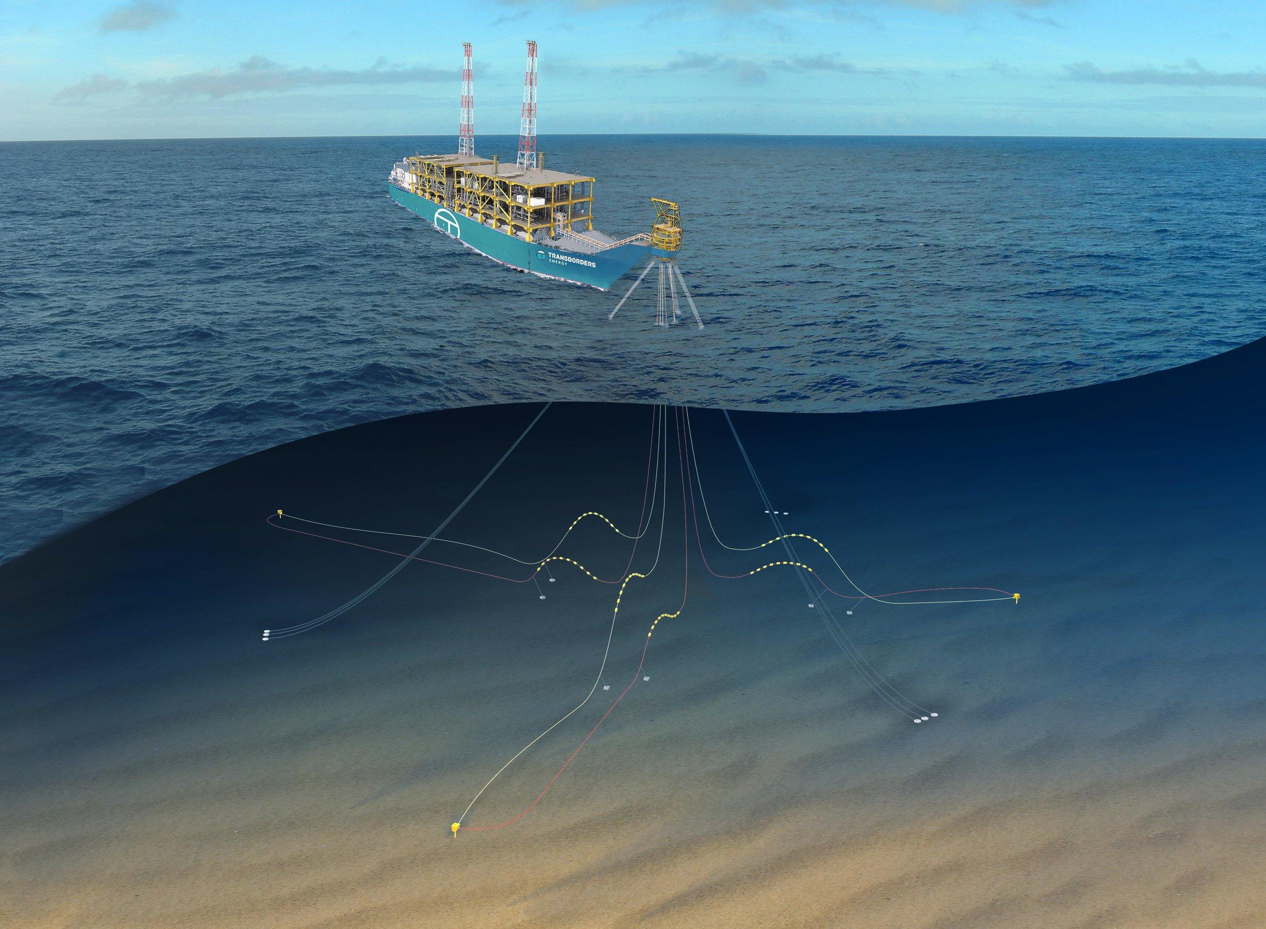 Photo courtesy of Transborders Energy: Initial field development plan utilising Transborders Energy's Generic FLNG Solution