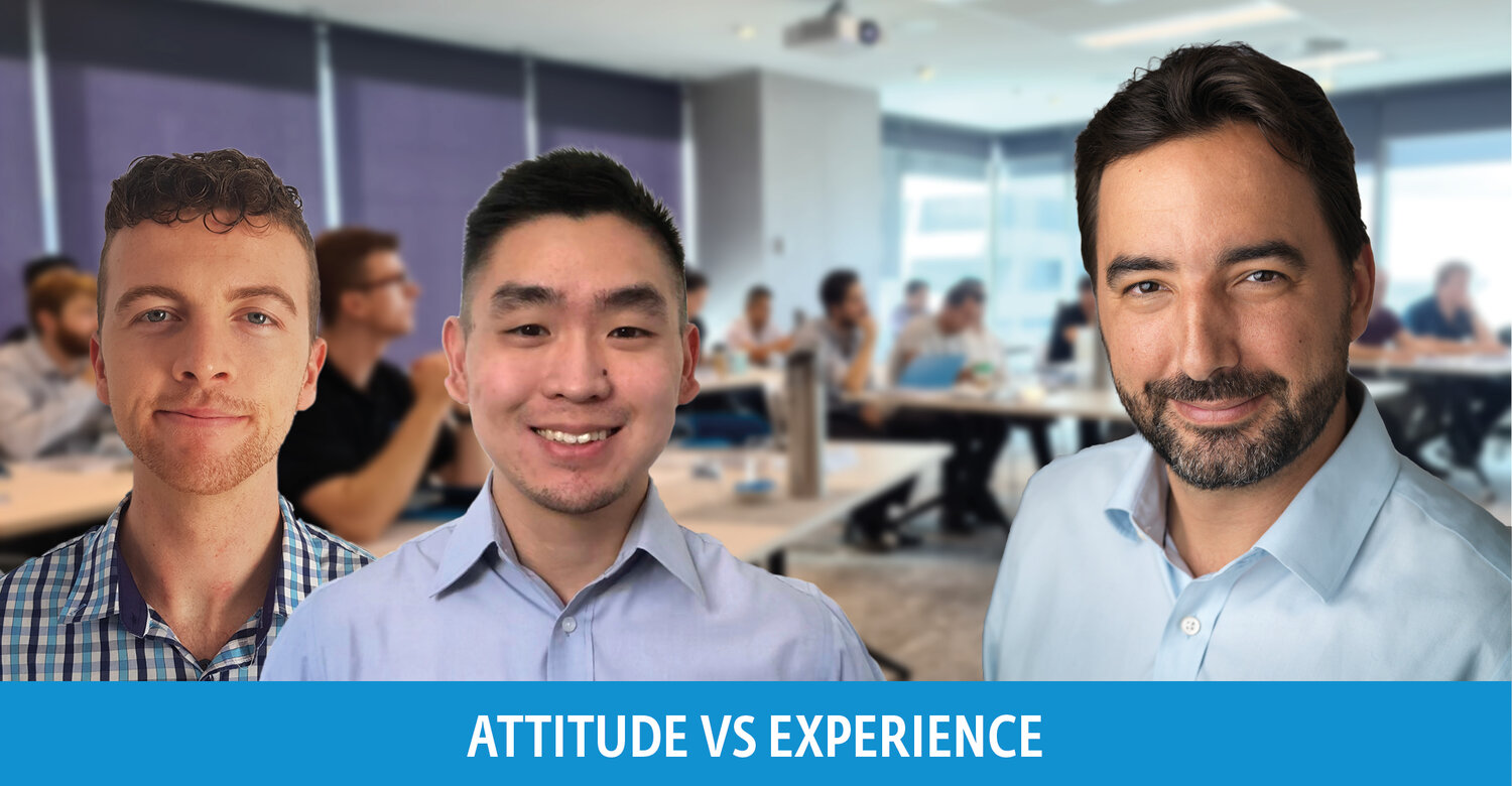Attitude vs experience: Why we invest in graduate engineers and advice for securing post graduate employment