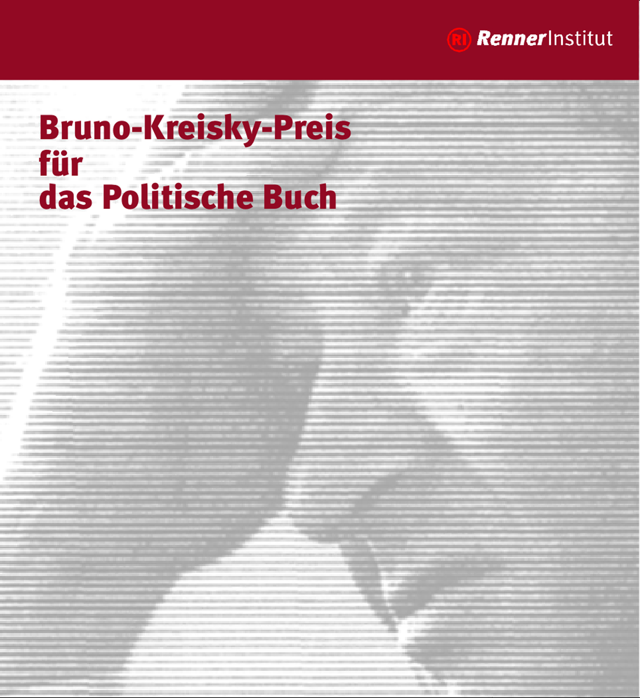 Design for the Bruno-Kreisky-Preis, Renner-Institut, Academy of the Austrian Social Democratic Party