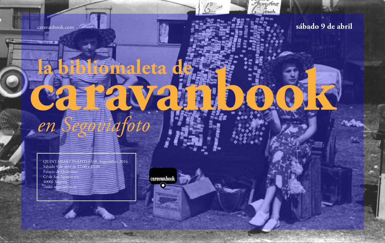 Cartel Caravanbook en Segoviafoto 2016