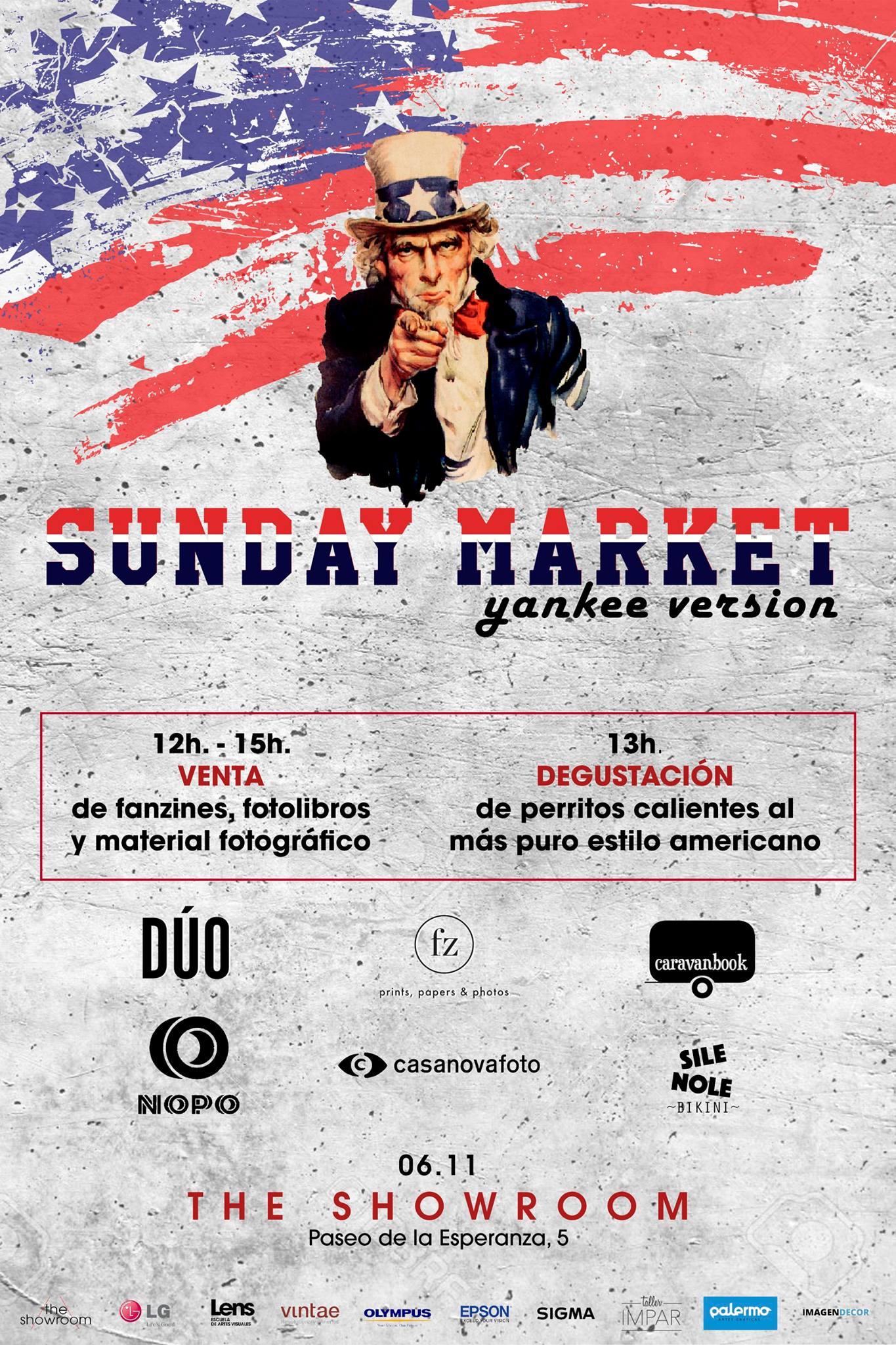 Caravanbook participa en el Sunday Market de Lens Escuela de Artes Visuales.