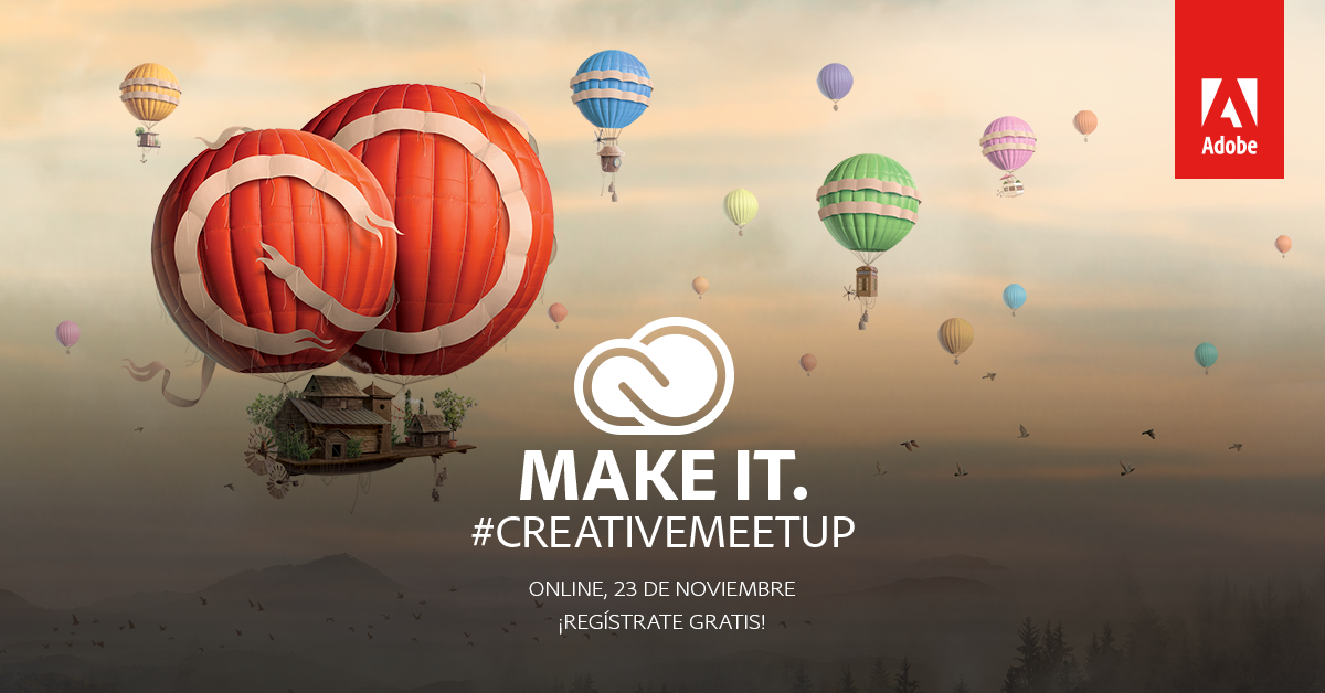 Caravanbook participa en el Market del Adobe Creative Meet Up Madrid en el COAM.