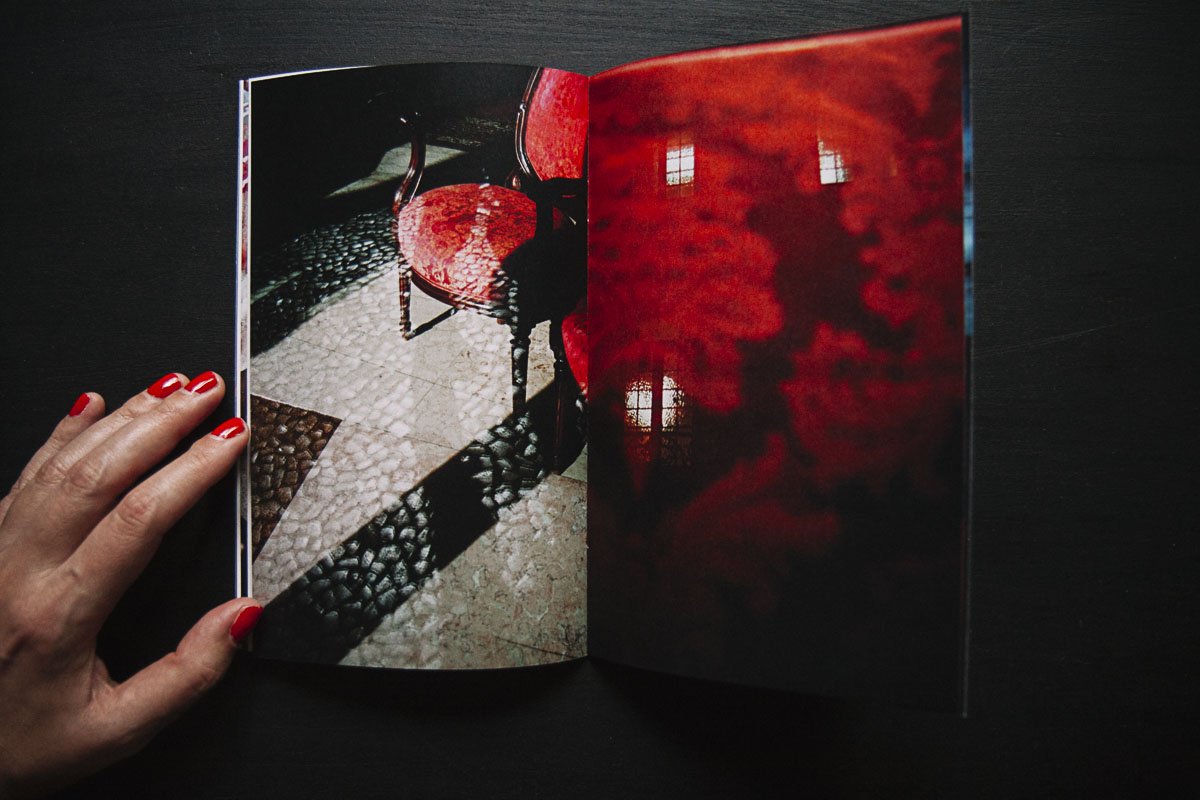 Interior pages of the photobook  Lisboa Secret  by Enric Montes.