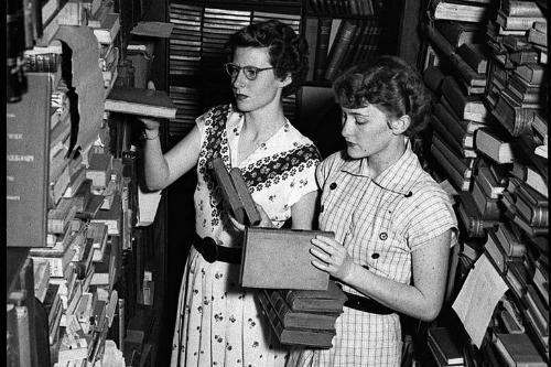 Librerías y tiendas -