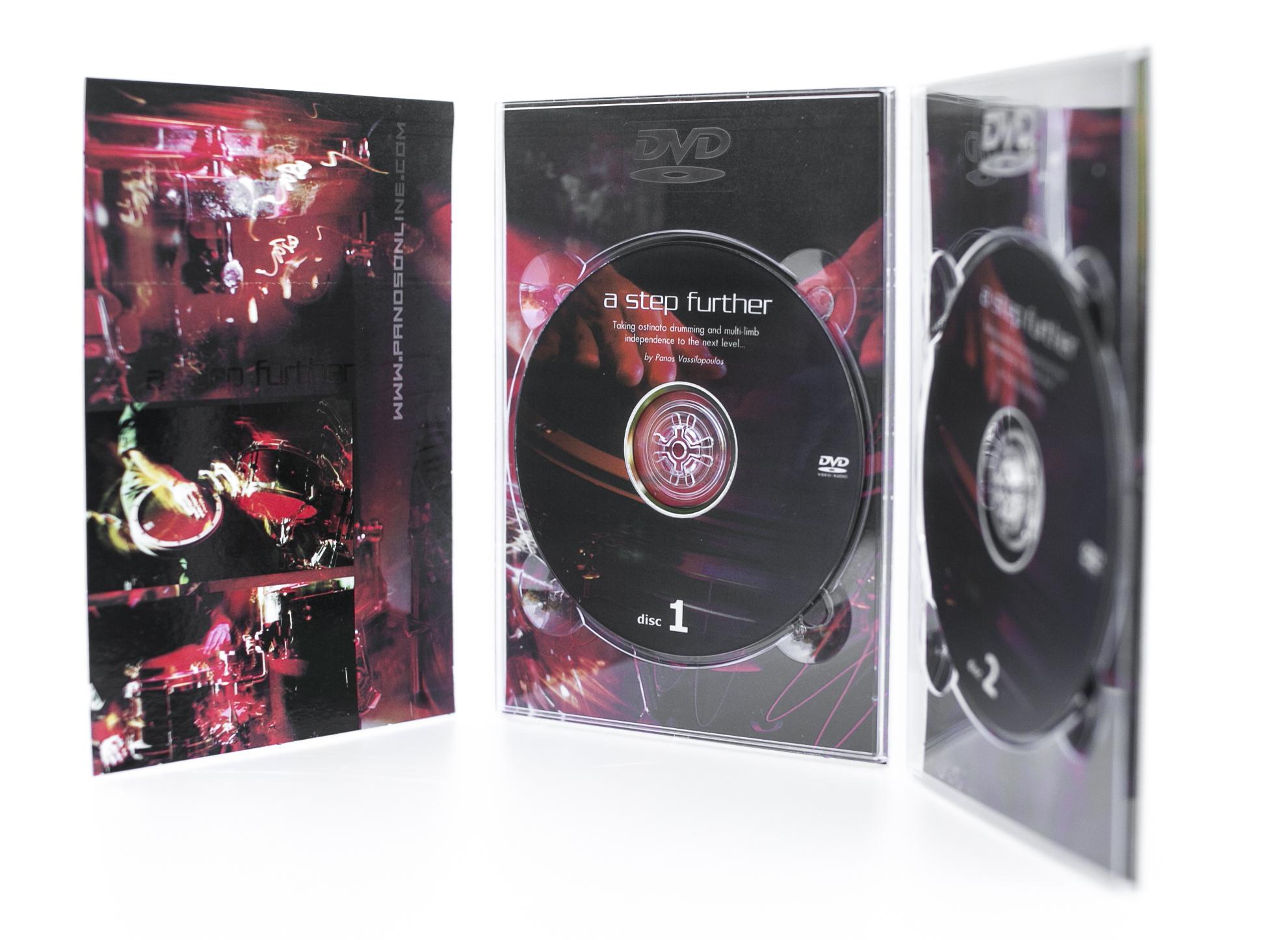 """2 DVD SET """"A STEP FURTHER"""""""