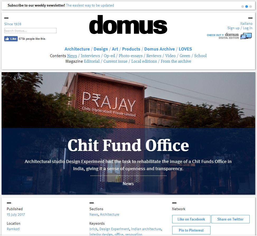 Domus July 2017