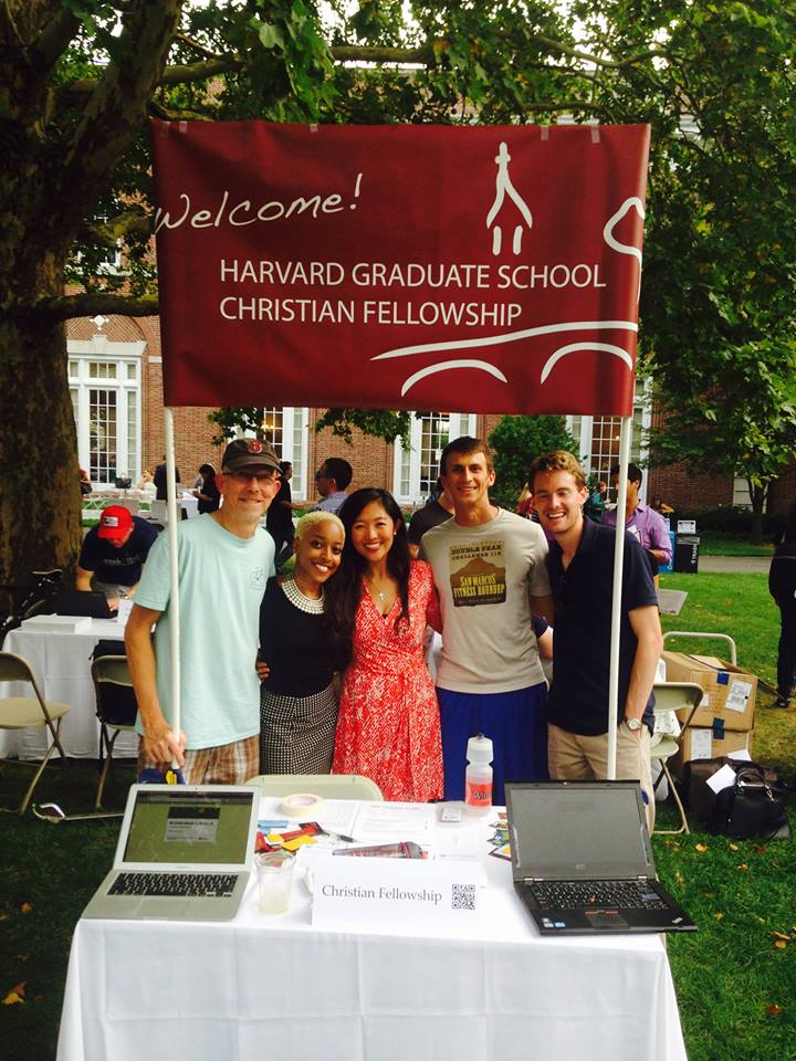 Since opening days we have continued to reach through postering in section classrooms, tabling at the club fair and (yes) more eating together…