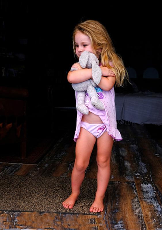 Charlie and her velveteen Rabbit..jpg