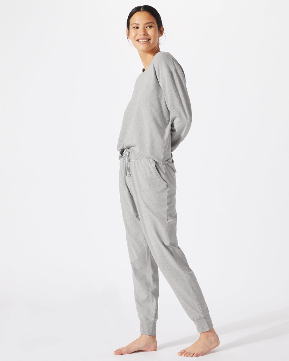 Jigsaw - Mila Stripe Jersey Pyjamas£60