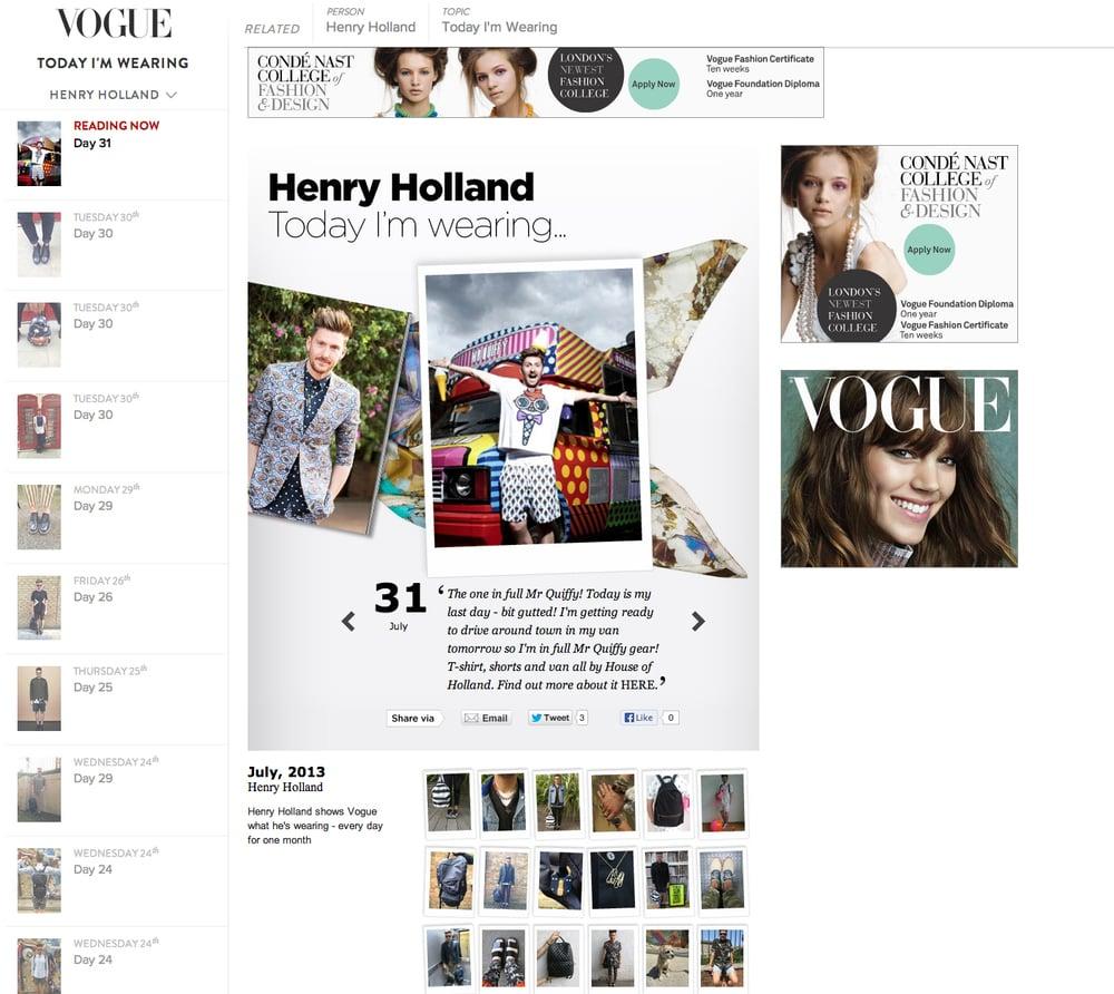 Vogue Online