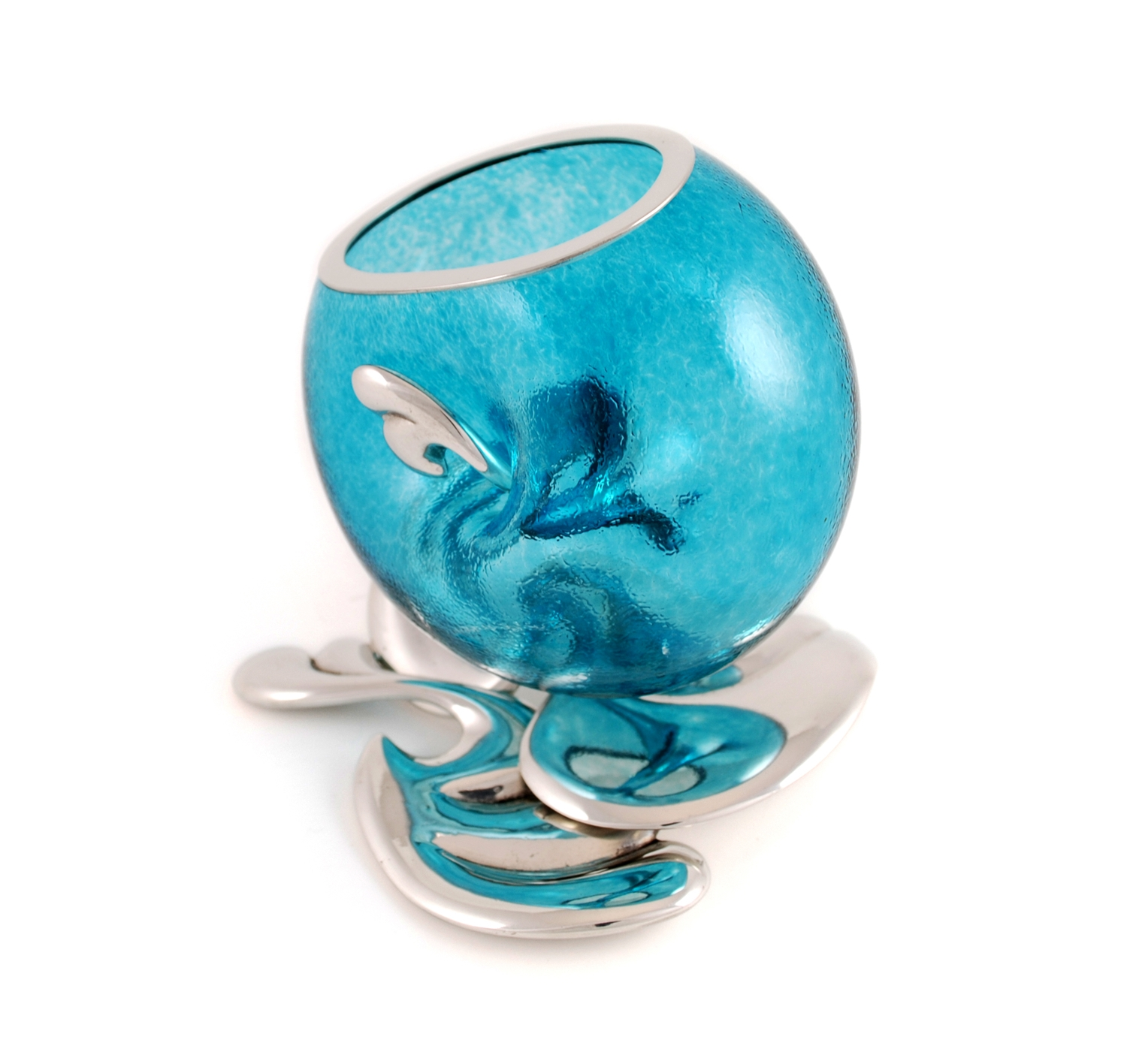 Turquoise Glass by Fleur Grenier