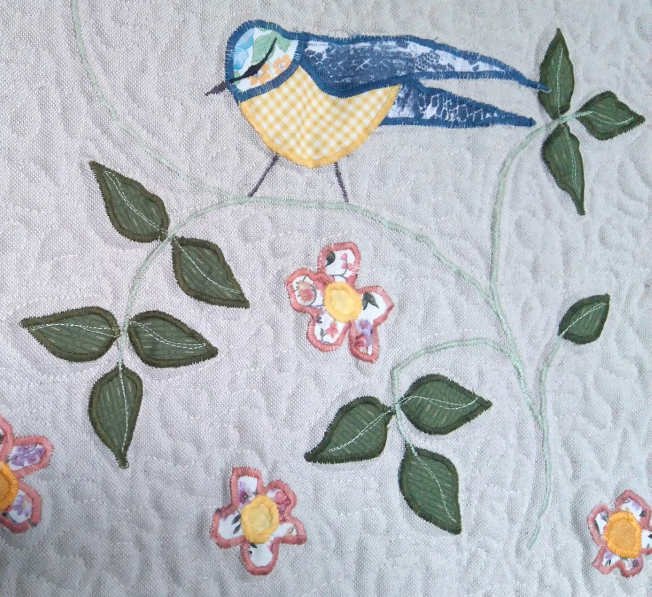 Louise Bell Quilts Meadow  Quilt  detail 2.jpg