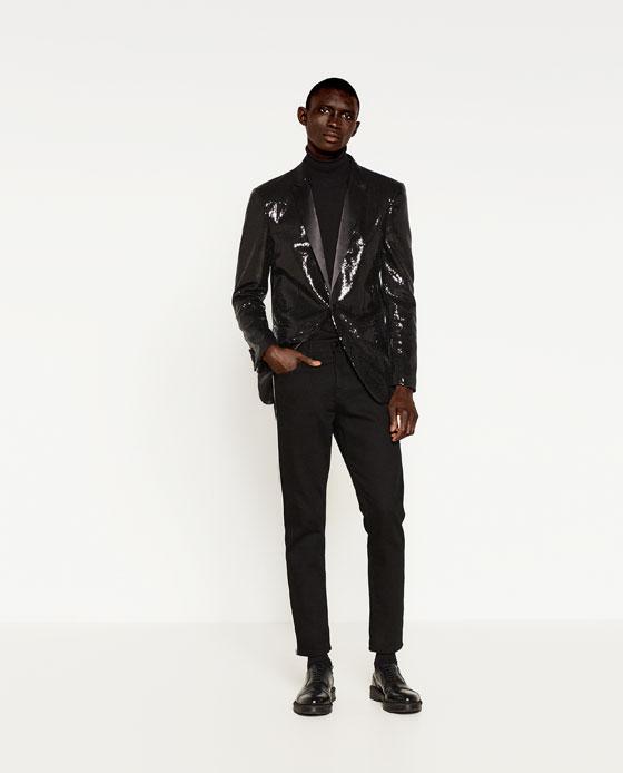 Source:  Zara    ZARA   (Kitsch isn't necessarily streetwear, put your sequins anywhere!)