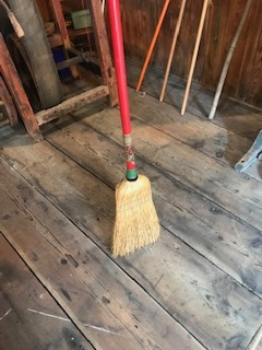 that stand on their own? No, it's not a Disney cartoon, just a well made broom! How to construct a broom is just one of the many exhibits at the Brodhead Museum.