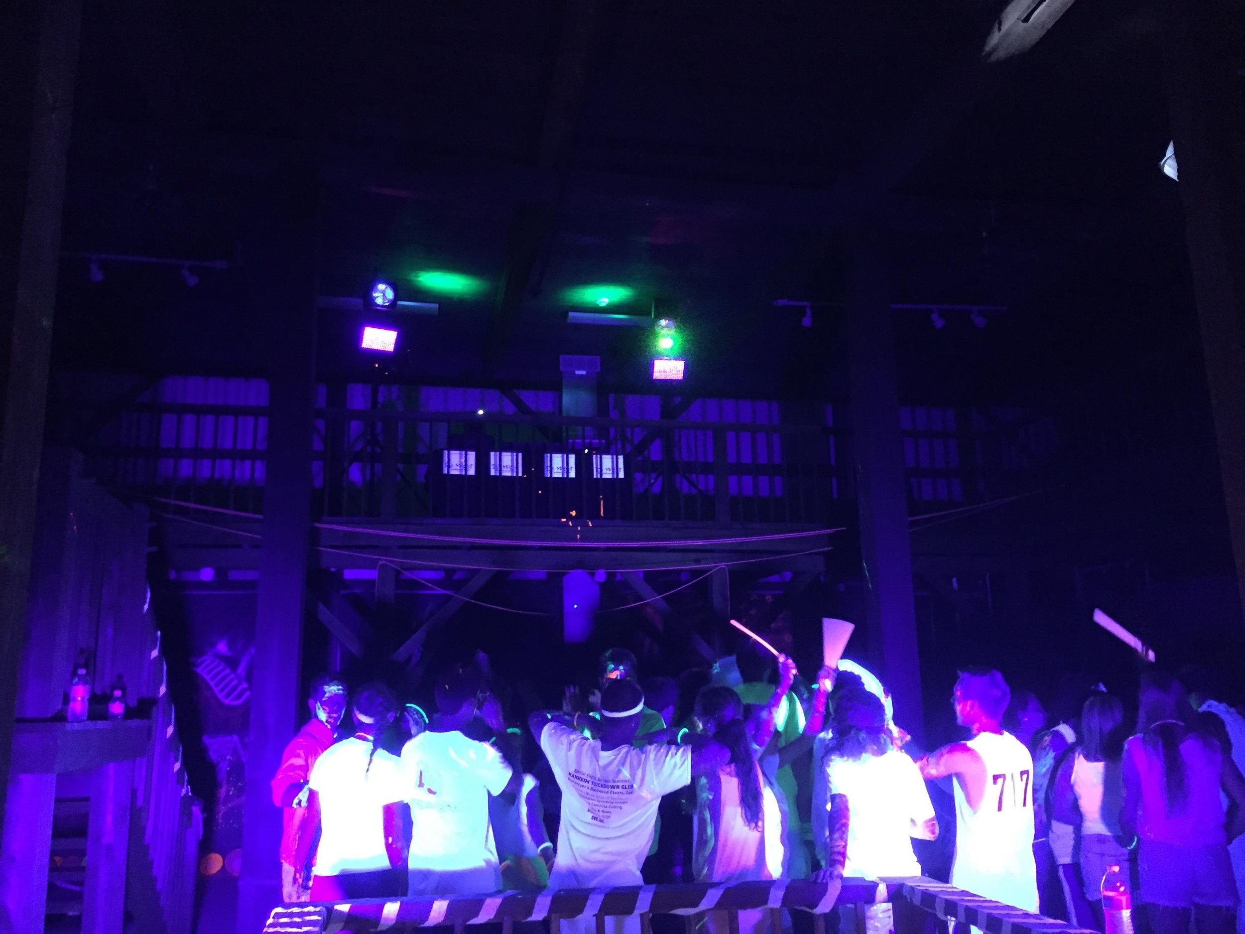 """Ultraviolet """"Black Light"""" Parties with Glow Stick Bracelets"""