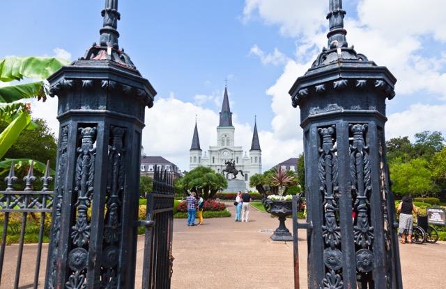Jackson Square Gates, New Orleans