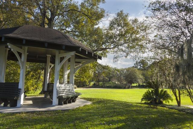 Cecile's Crepe Myrtle Grove, Audubon Park, New Orleans