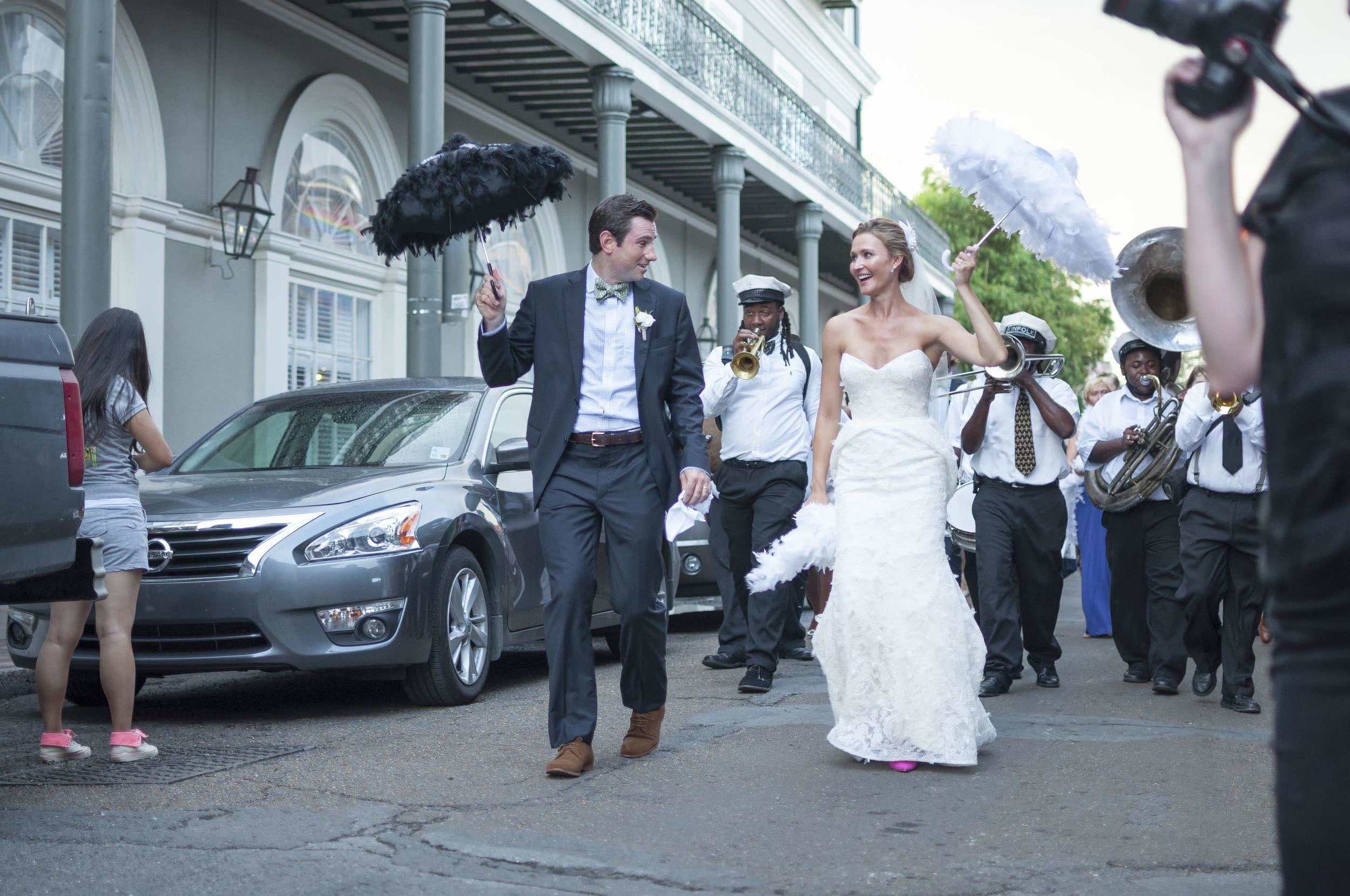 Second Line, New Orleans