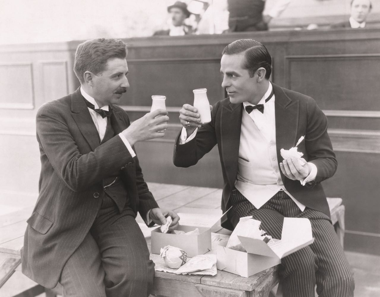 OOO b&w two men toasting.jpg