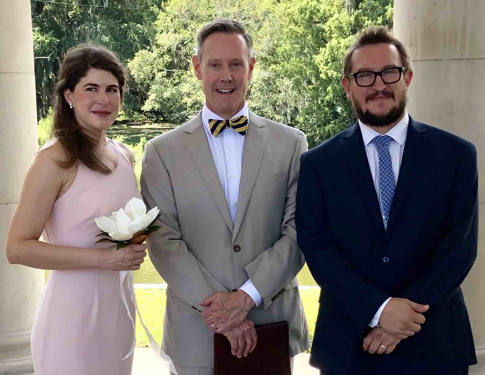 The Officiant Office of New Orleans - Peristyle wedding