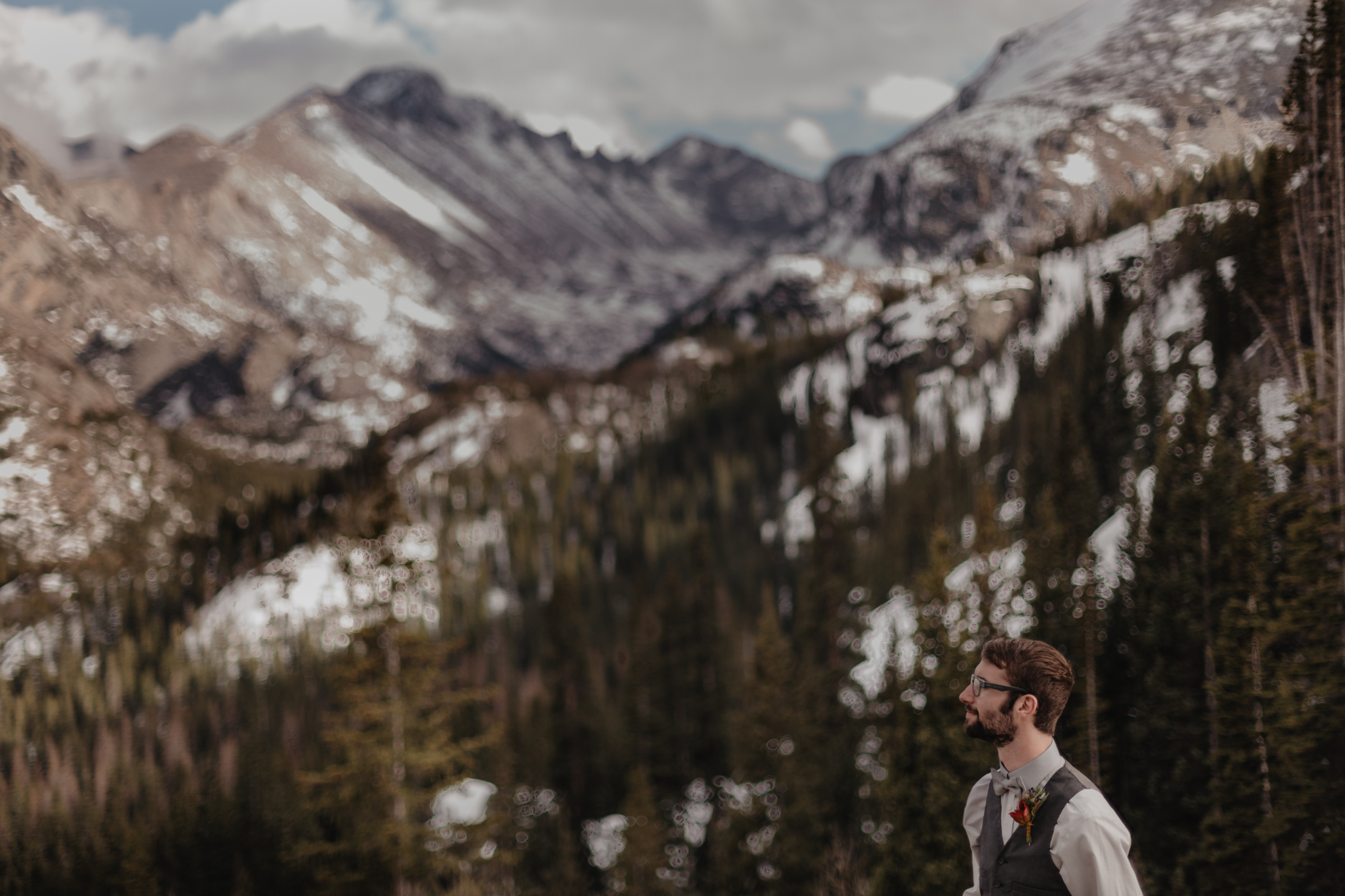 Estes Park Colorado Elopement | Adventure Wedding Photographer