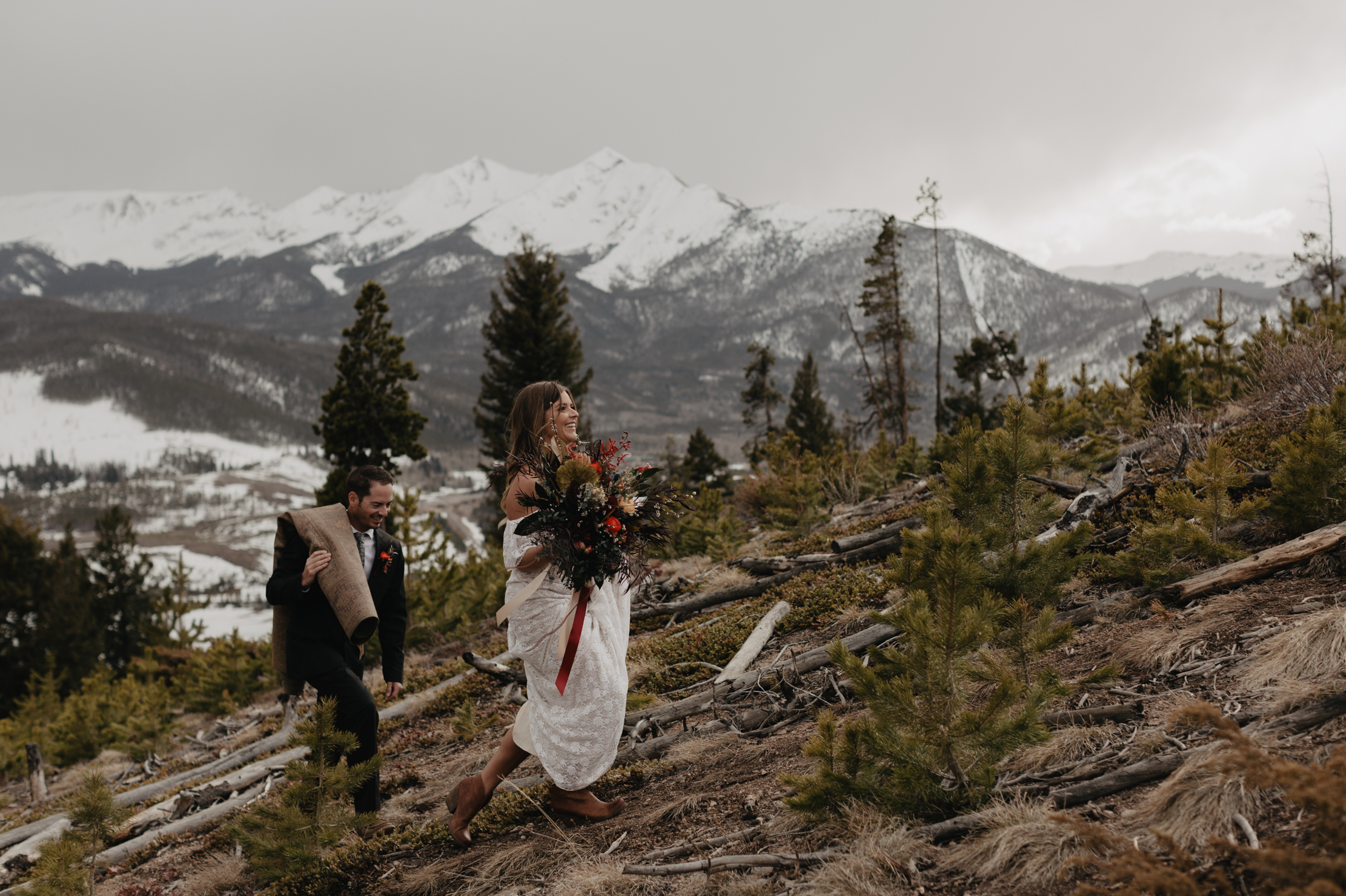 Sapphire Point Elopement Breckenridge Colorado | Adventure Weddi