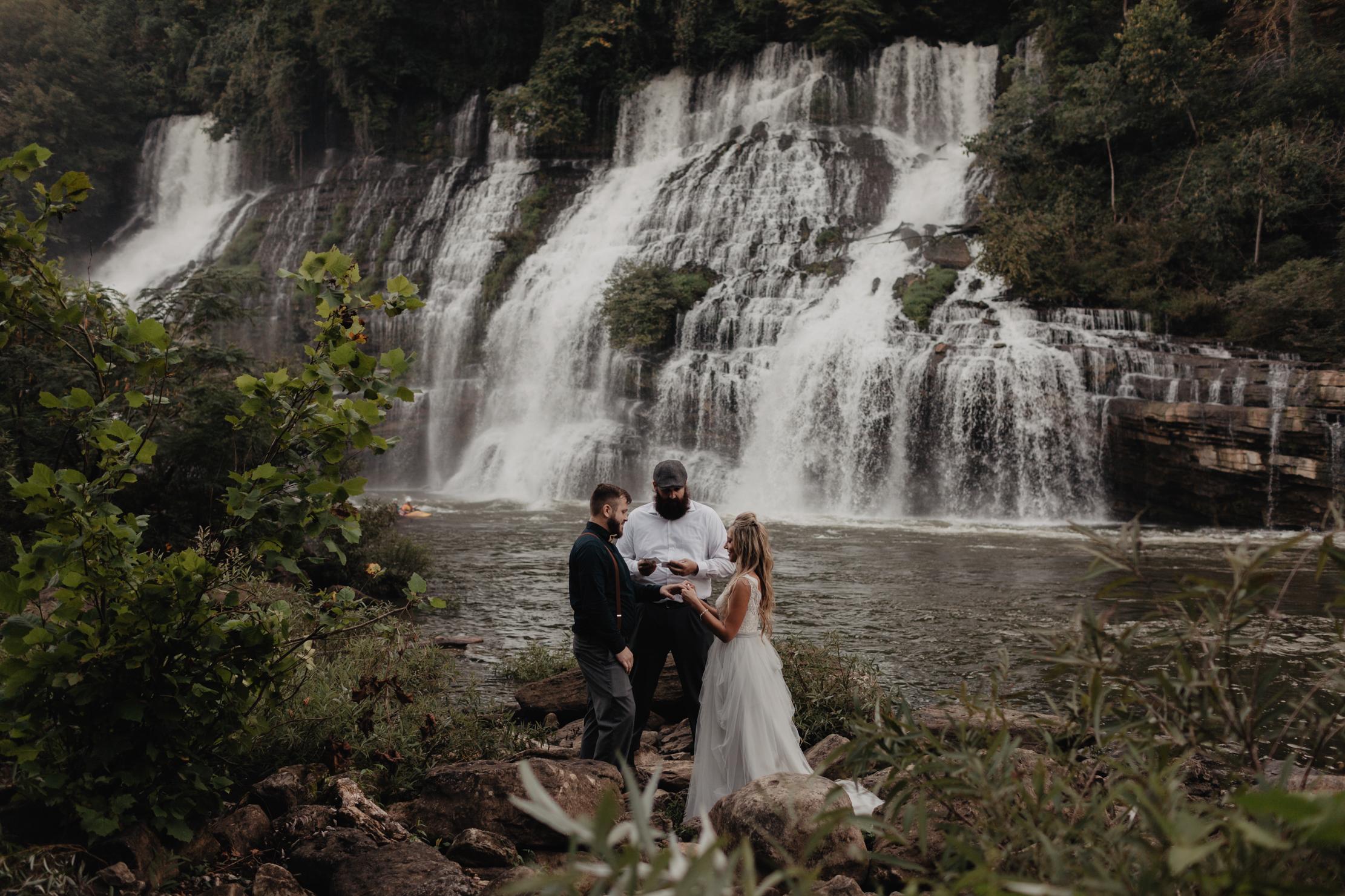 Rock Island State Park Elopement | Adventure Wedding Photographe