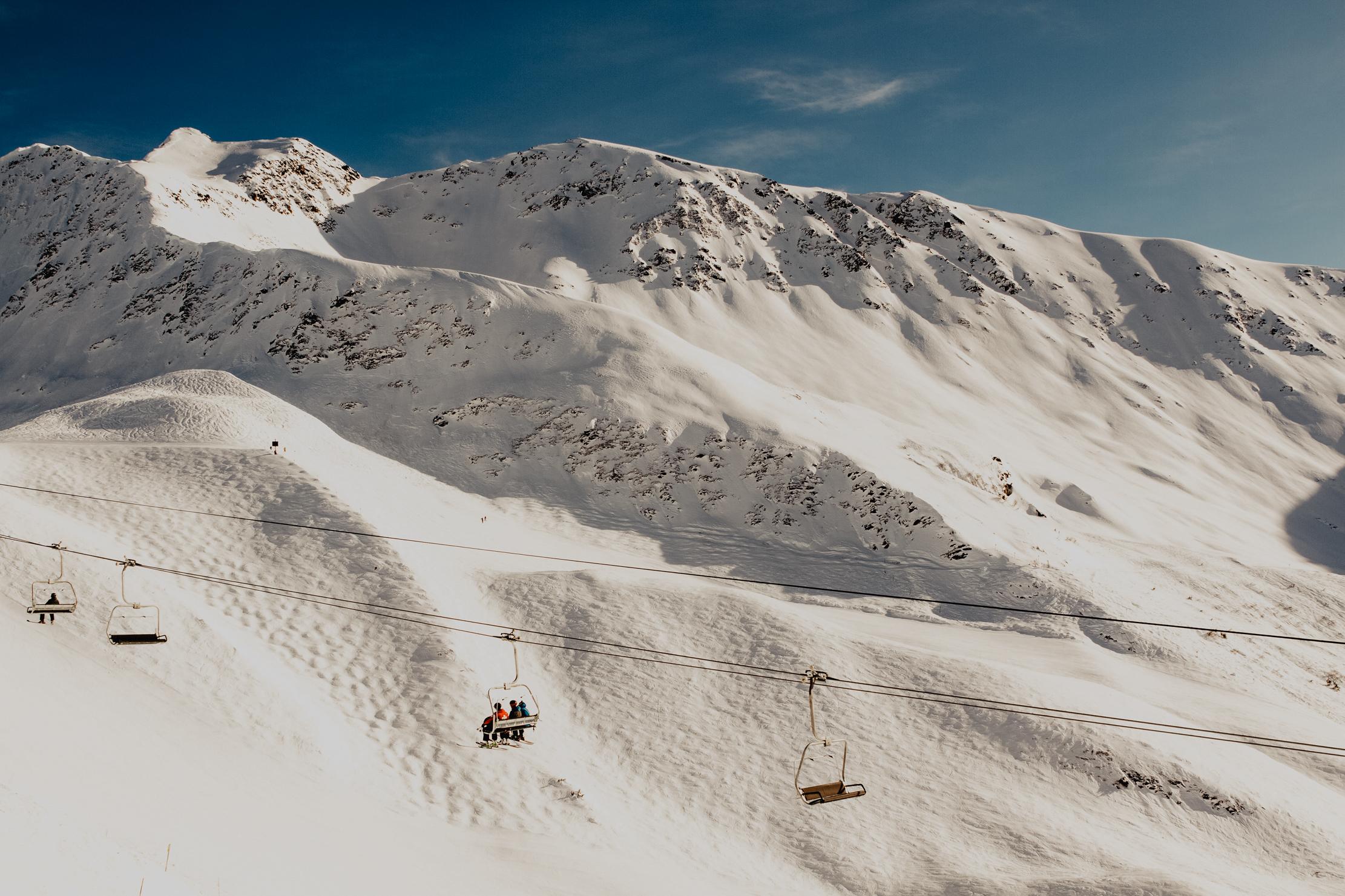 Alaska Ski Resort | Adventure Photographer