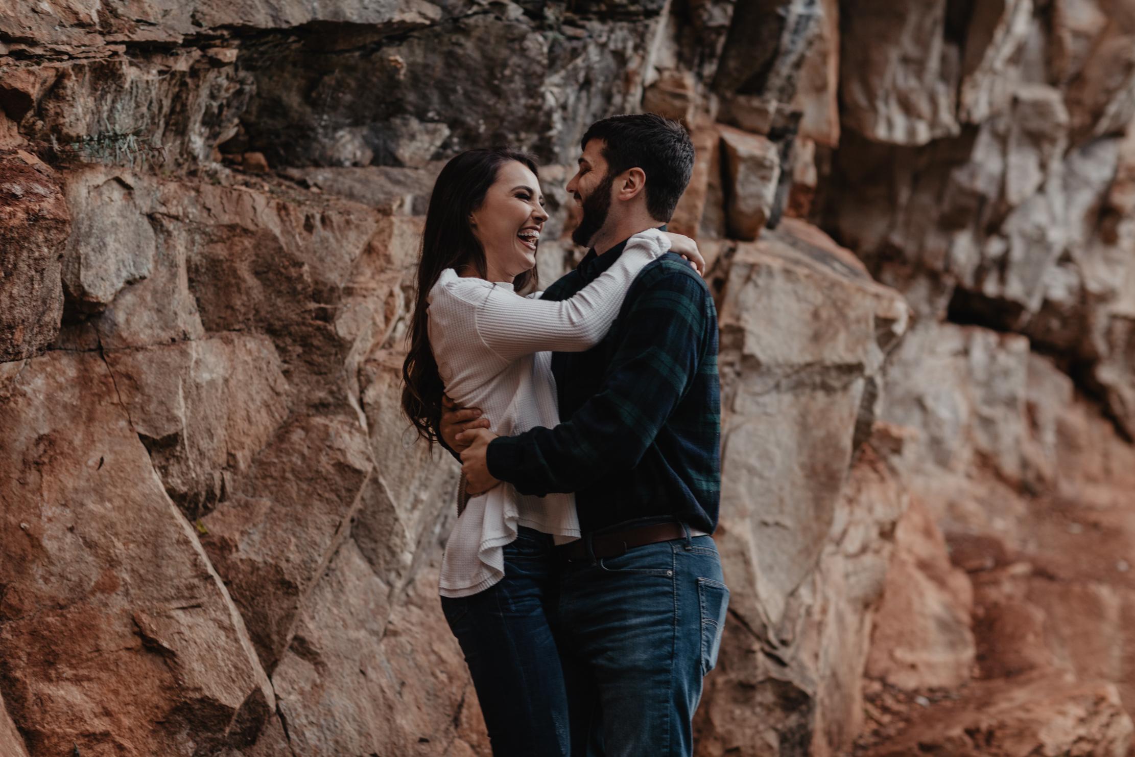 Ijams Crag Engagement | Knoxville Wedding Photographer