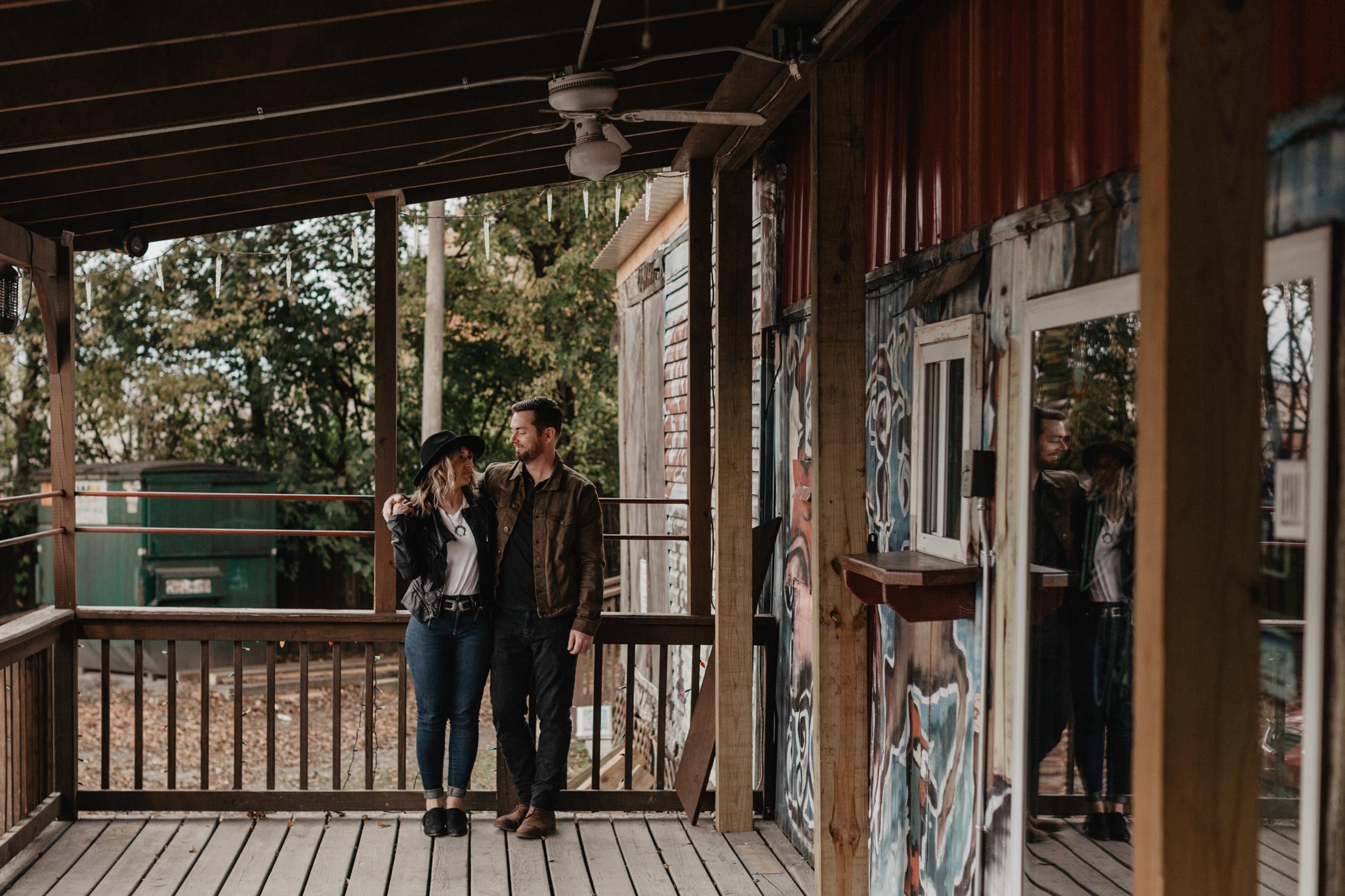 Santa's Pub | Dive Bar Engagement | Nashville Photographer