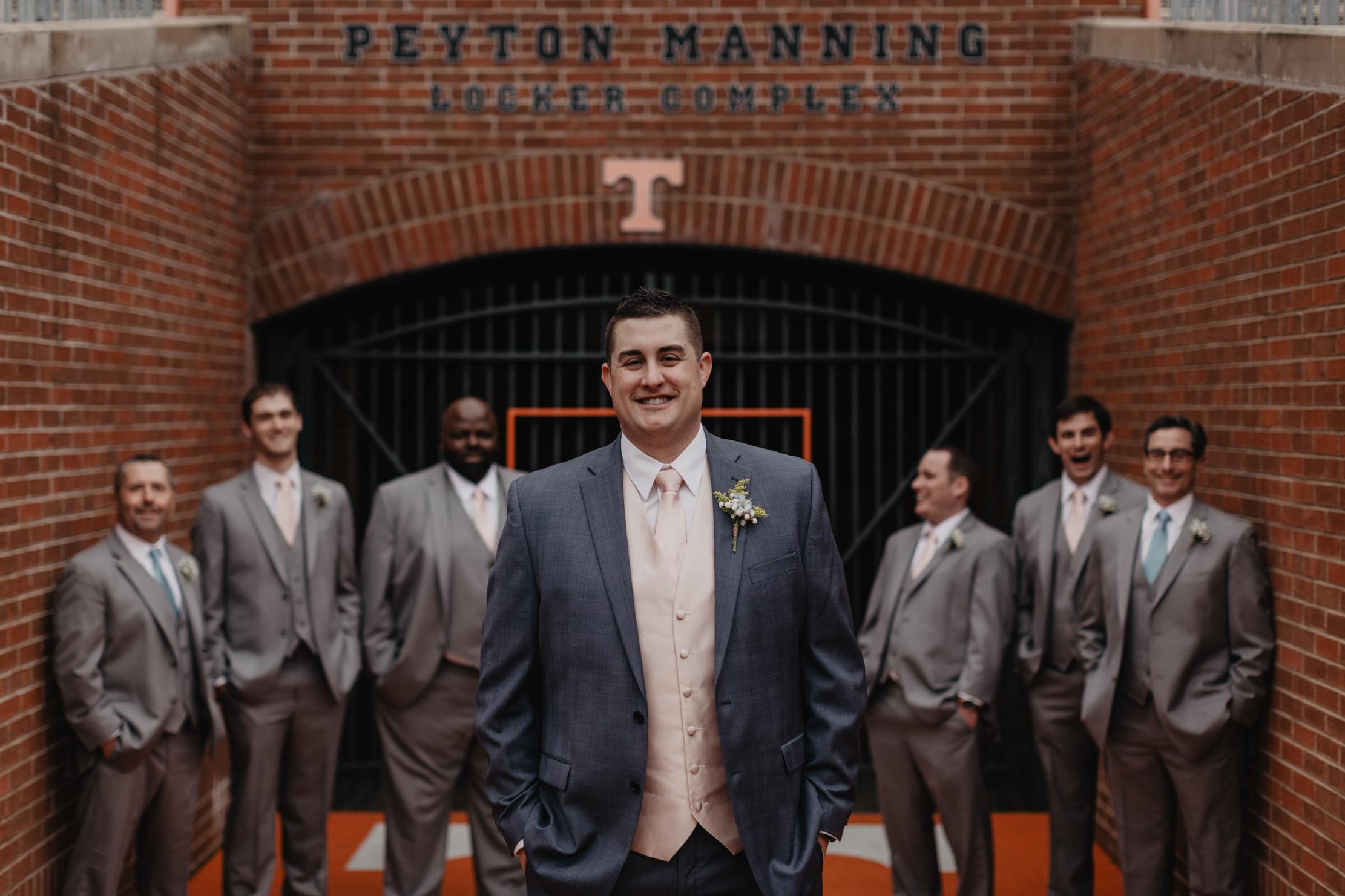 UT Knoxville Wedding at Neyland Stadium