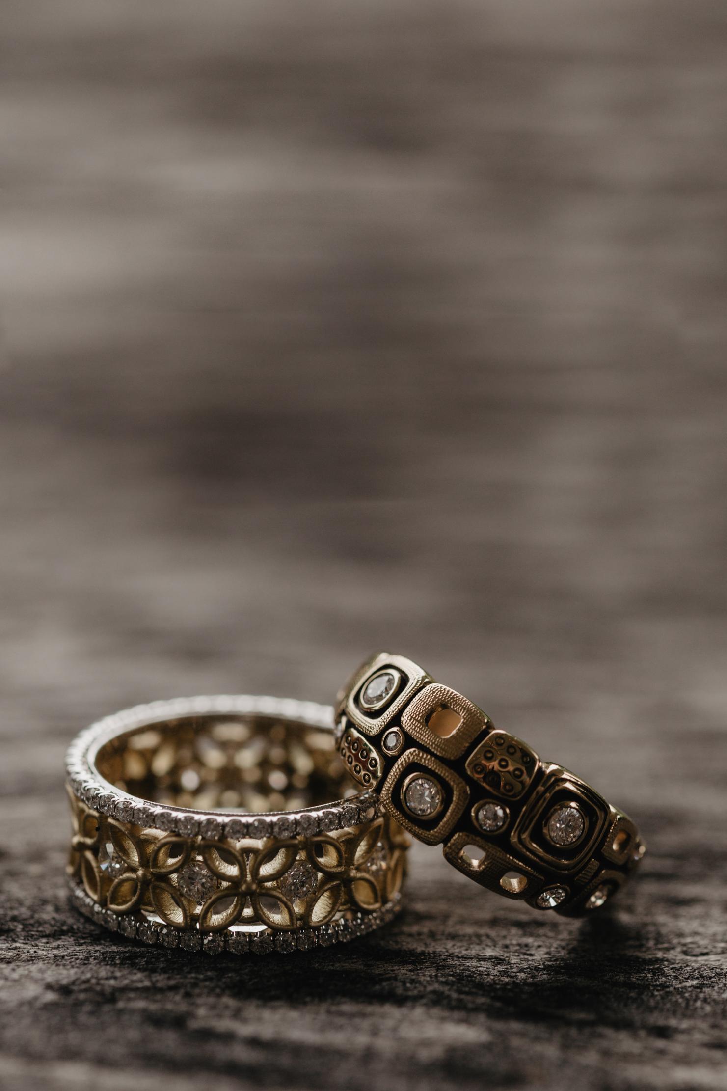 Unique Wedding Rings | Traveling Wedding Photographer
