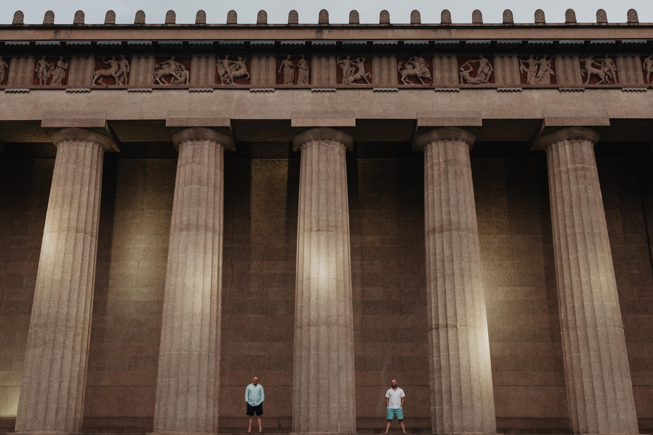 Parthenon Engagement | LGBT Nashville Wedding Photographer