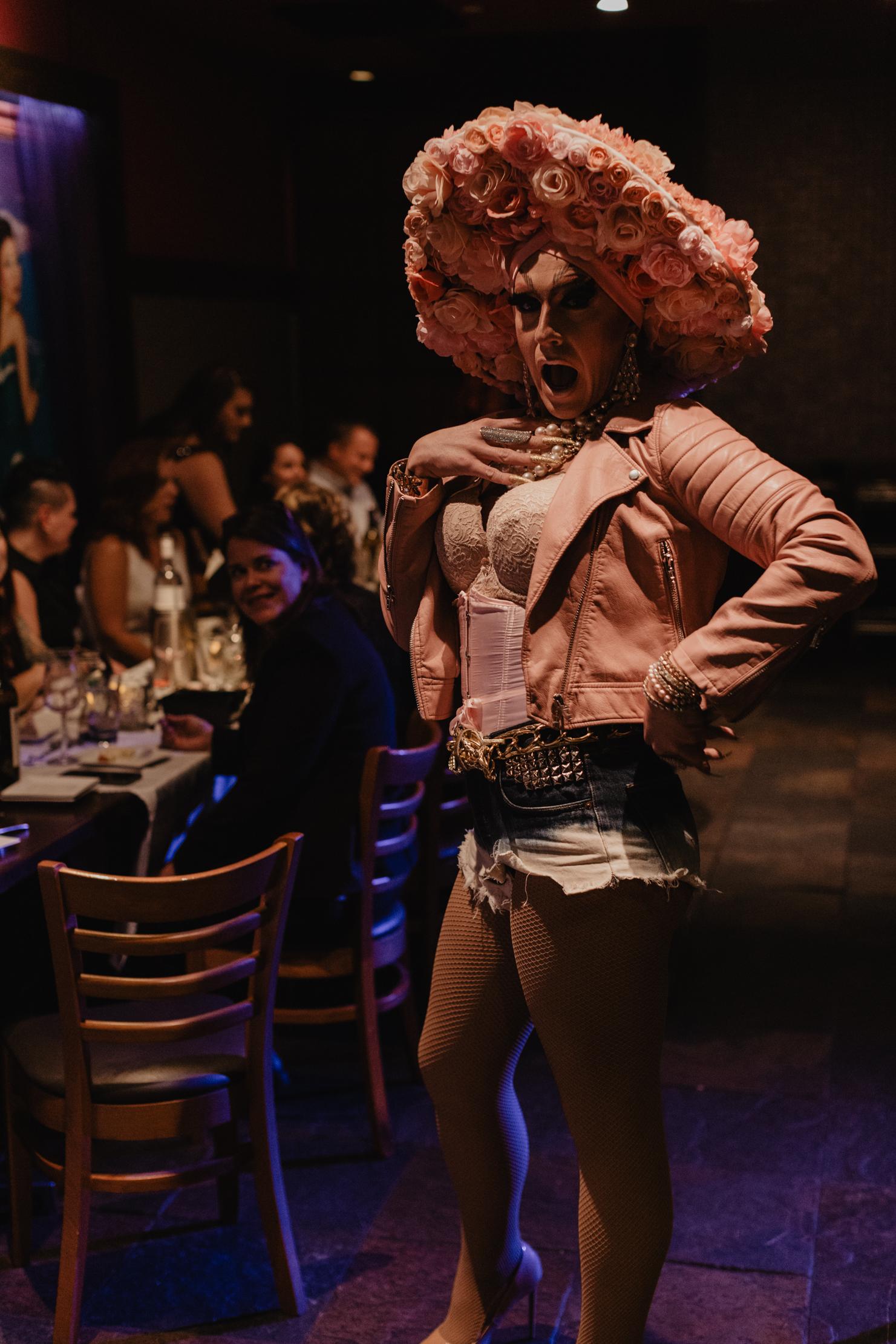 Drag Show Wedding Reception at Suzy Wong's | LGBT Nashville Wedd