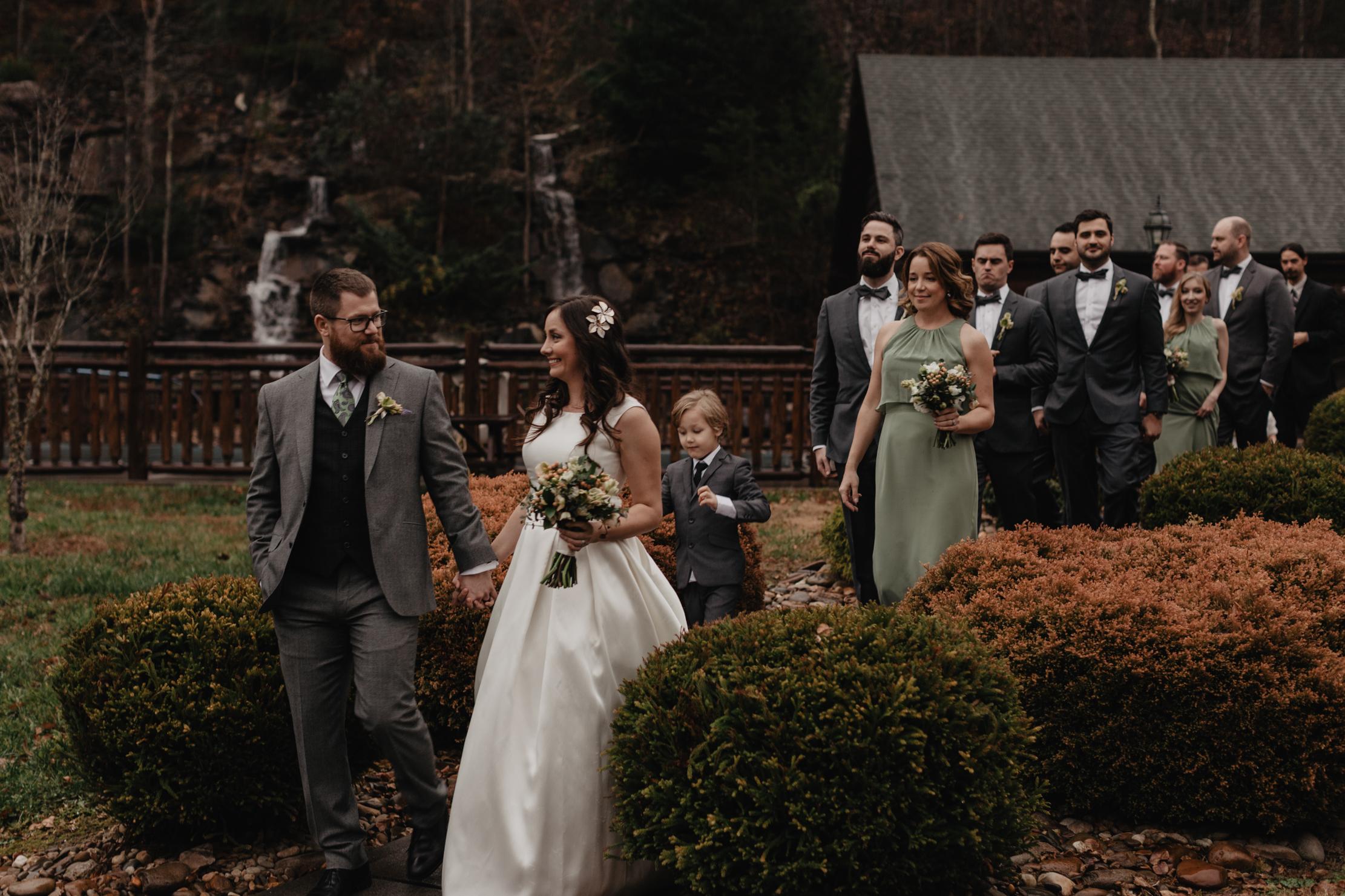 Smoky Mountain Lodge Wedding Photographer
