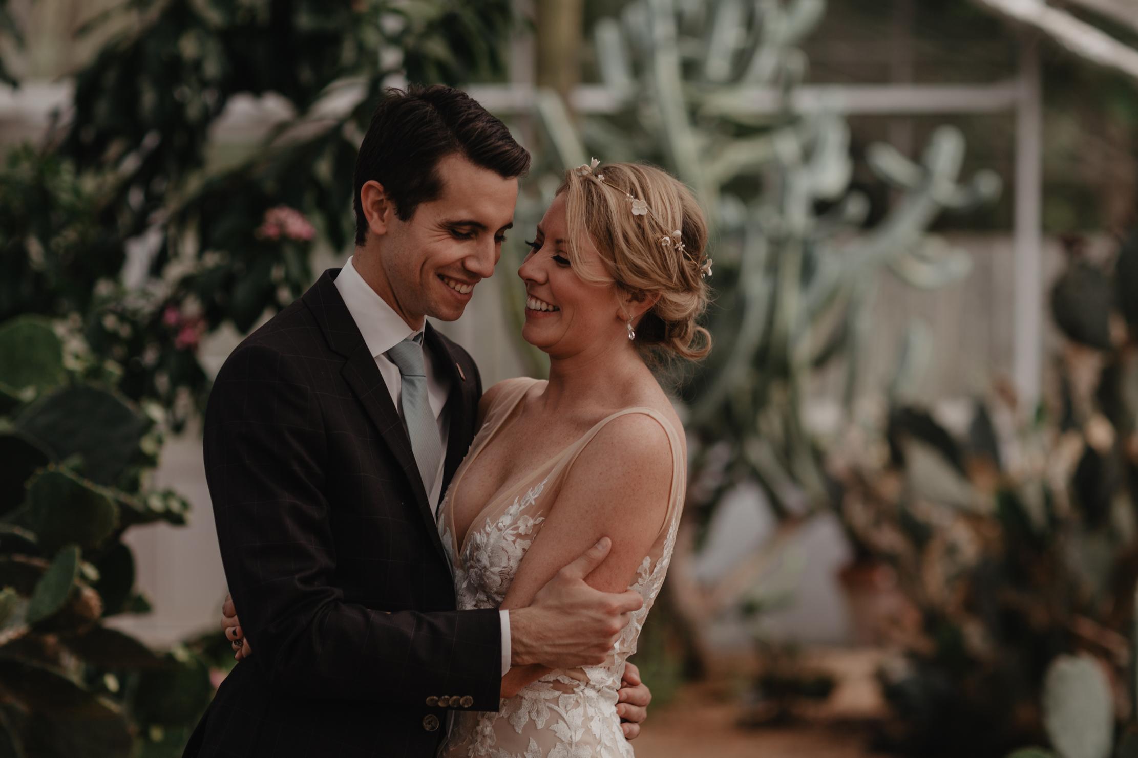Succulent Greenhouse Wedding | Traveling Wedding Photographer