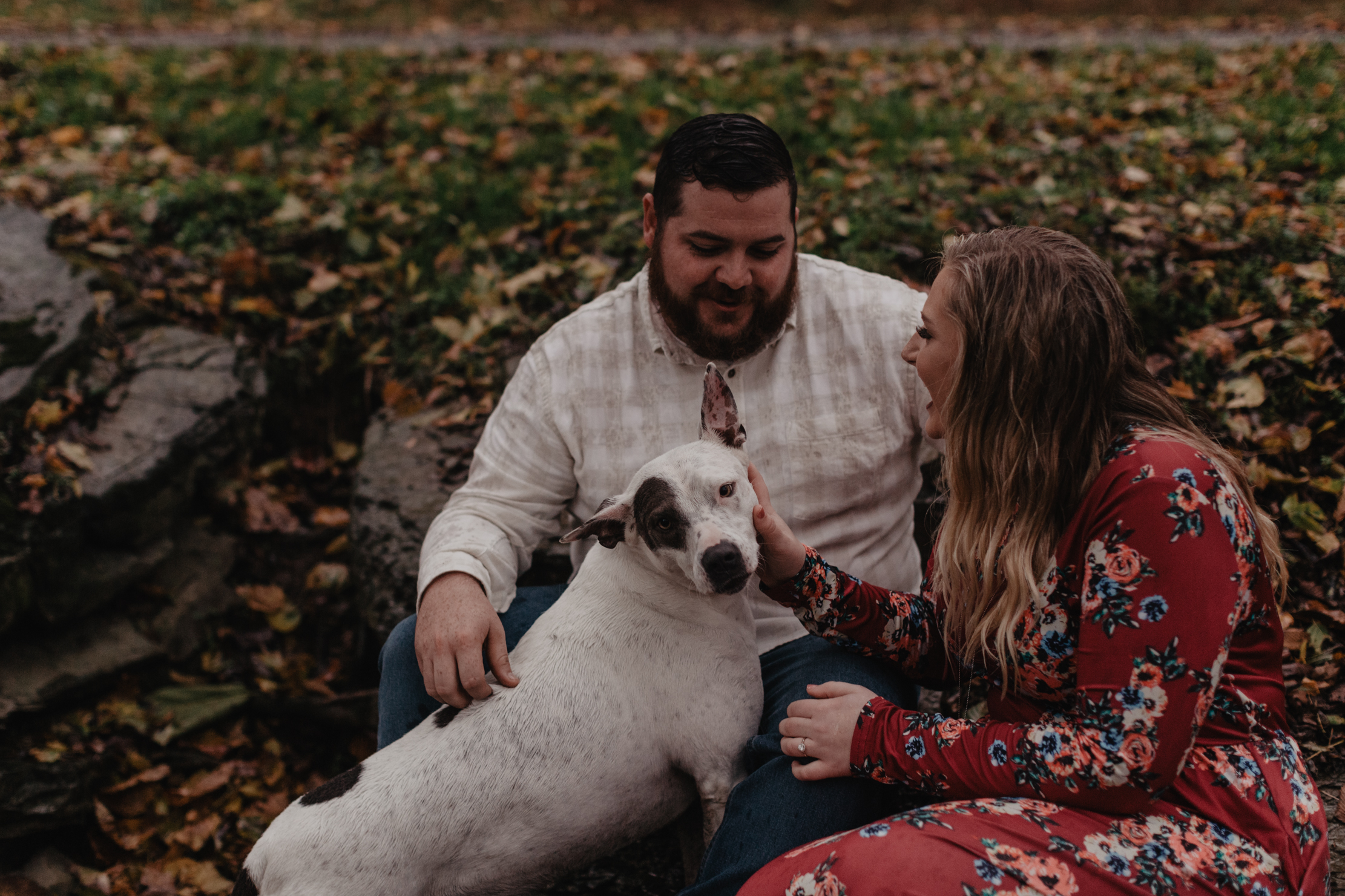 Megan and Cody Engagement Session | Family Farm in Nashville