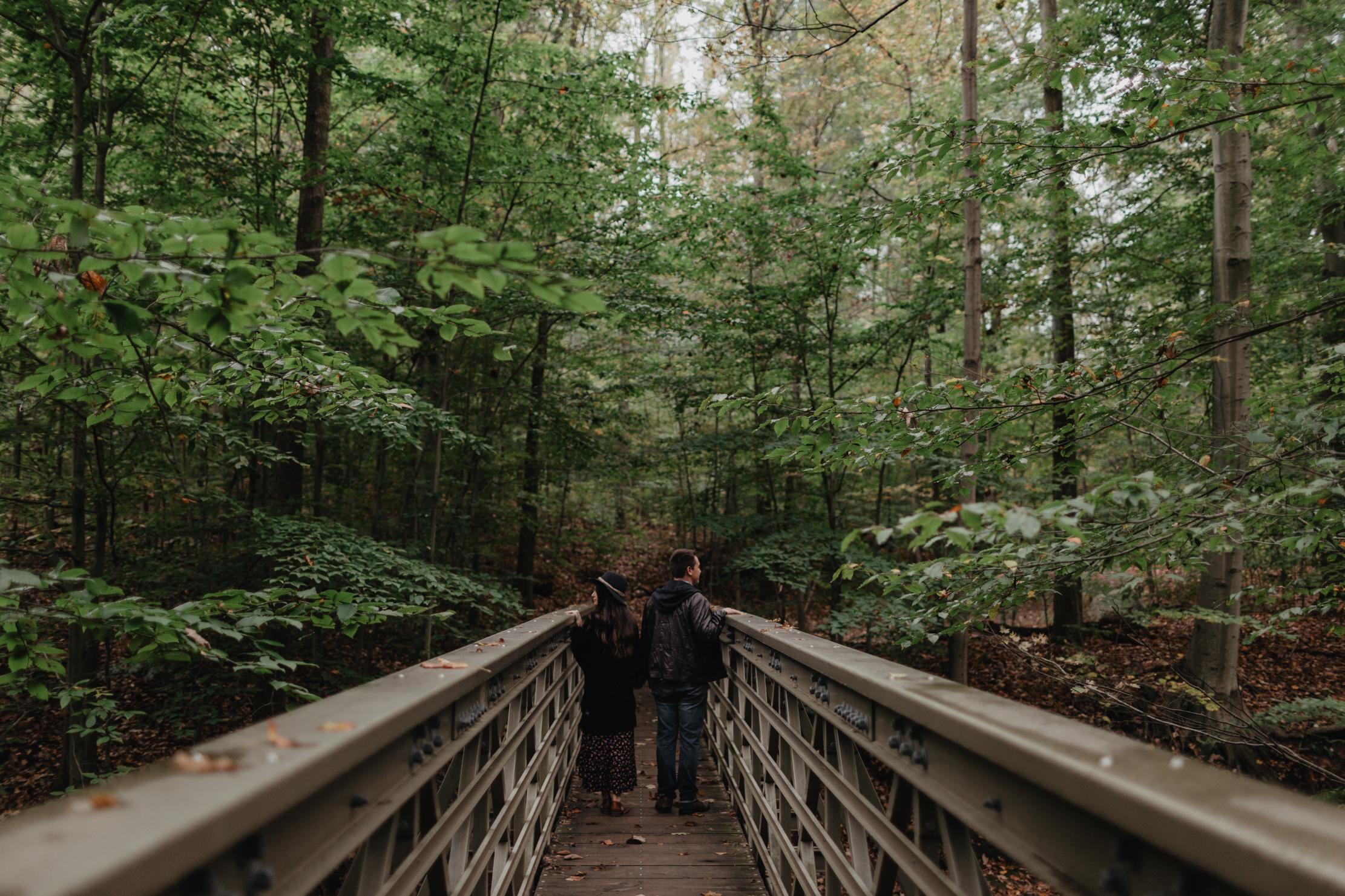 Cuyahoga Valley National Park Engagement | Adventure Wedding Pho
