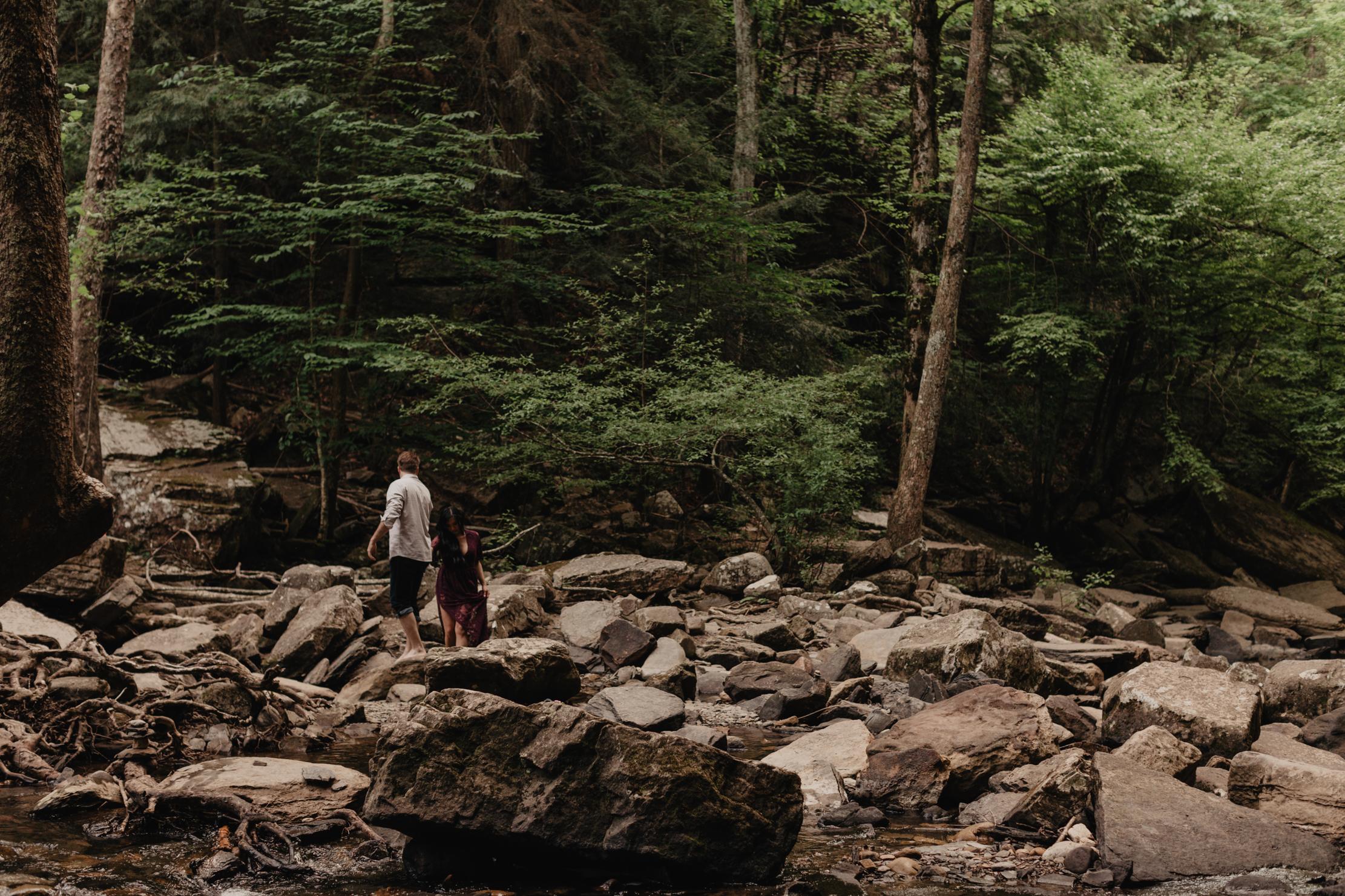 Tennessee Waterfall Elopement | Adventure Wedding Photographer