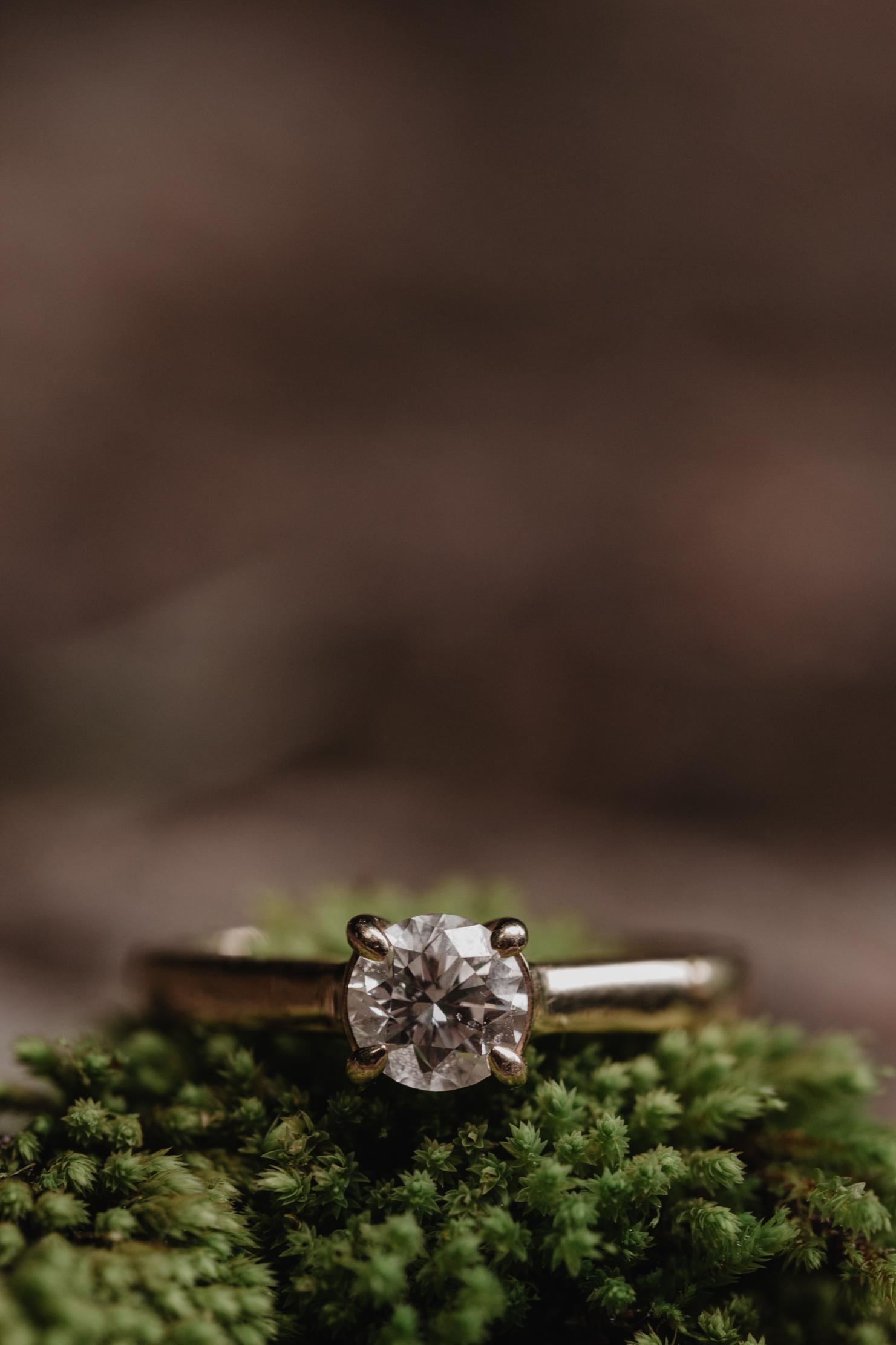 Piney Falls Waterfall Engagement   Knoxville Wedding Photographe