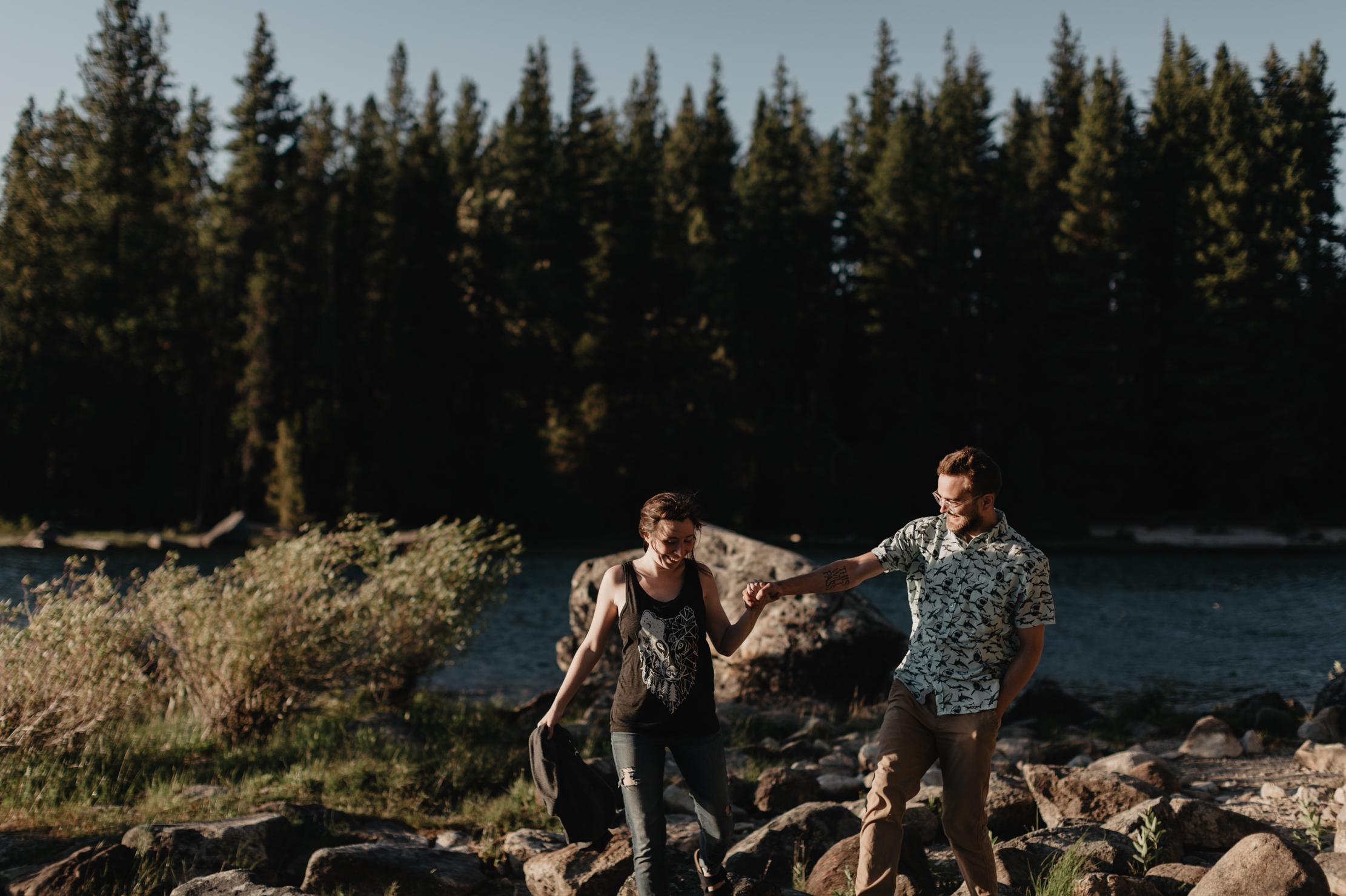 Lake Wenatchee Washington | Adventure Wedding Photographer