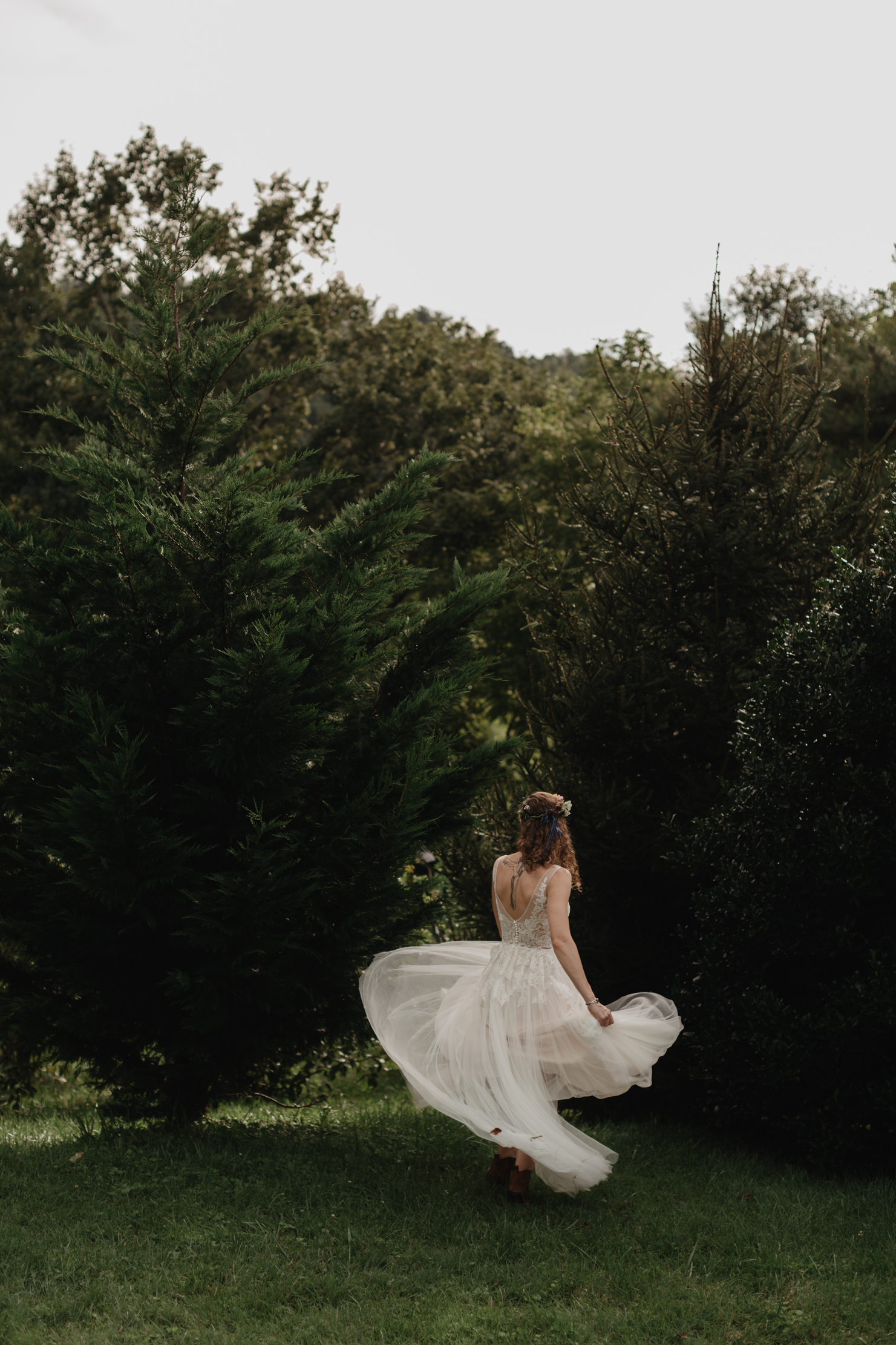 Mountain Elopement in Asheville | Adventure Wedding Photographer