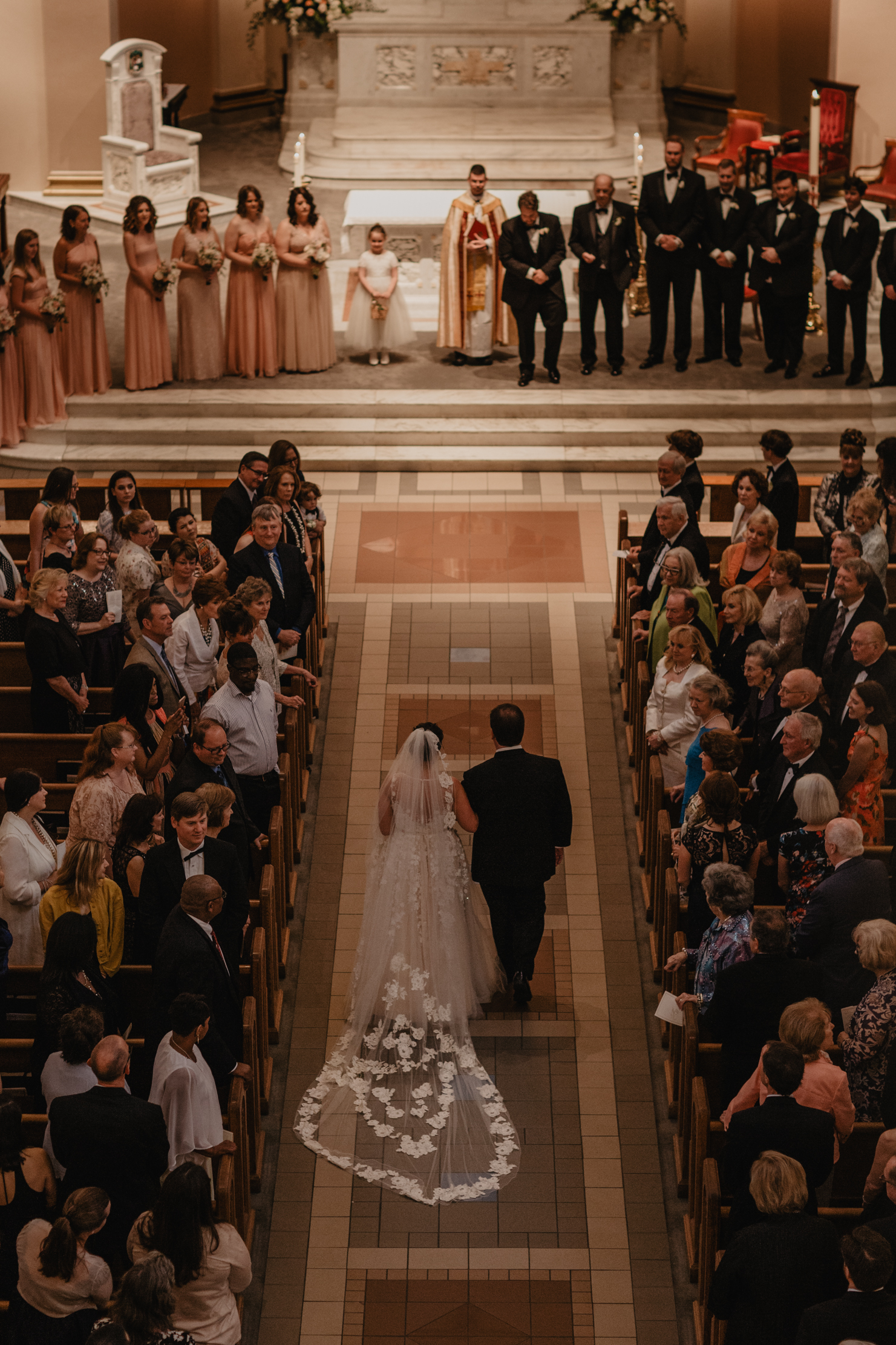 Cathedral of the Incarnation | Nashville Wedding Photographer