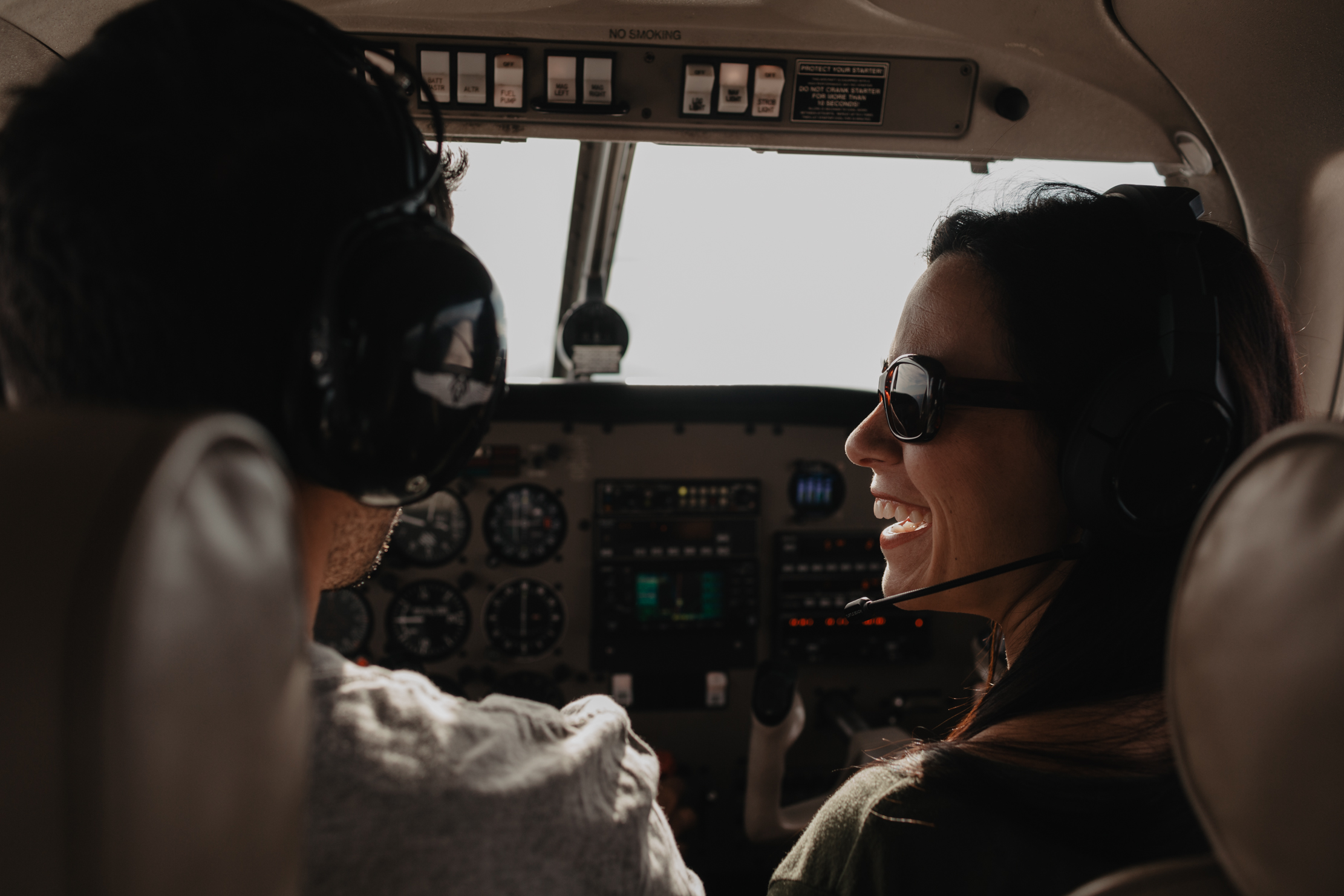 Pilot Engagement Session with Flying Plane in Knoxville