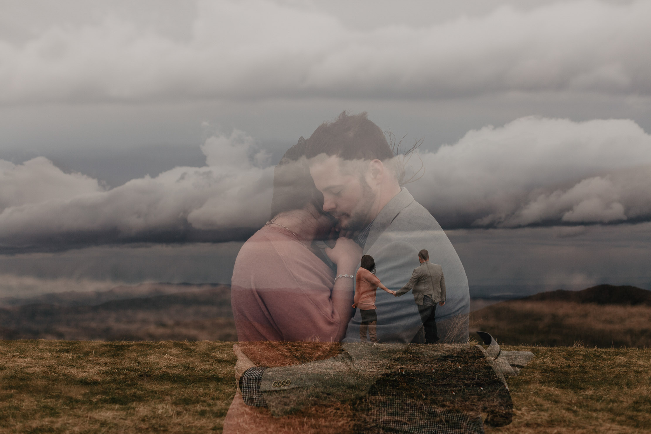 Max Patch Engagement | Asheville Wedding Photographer